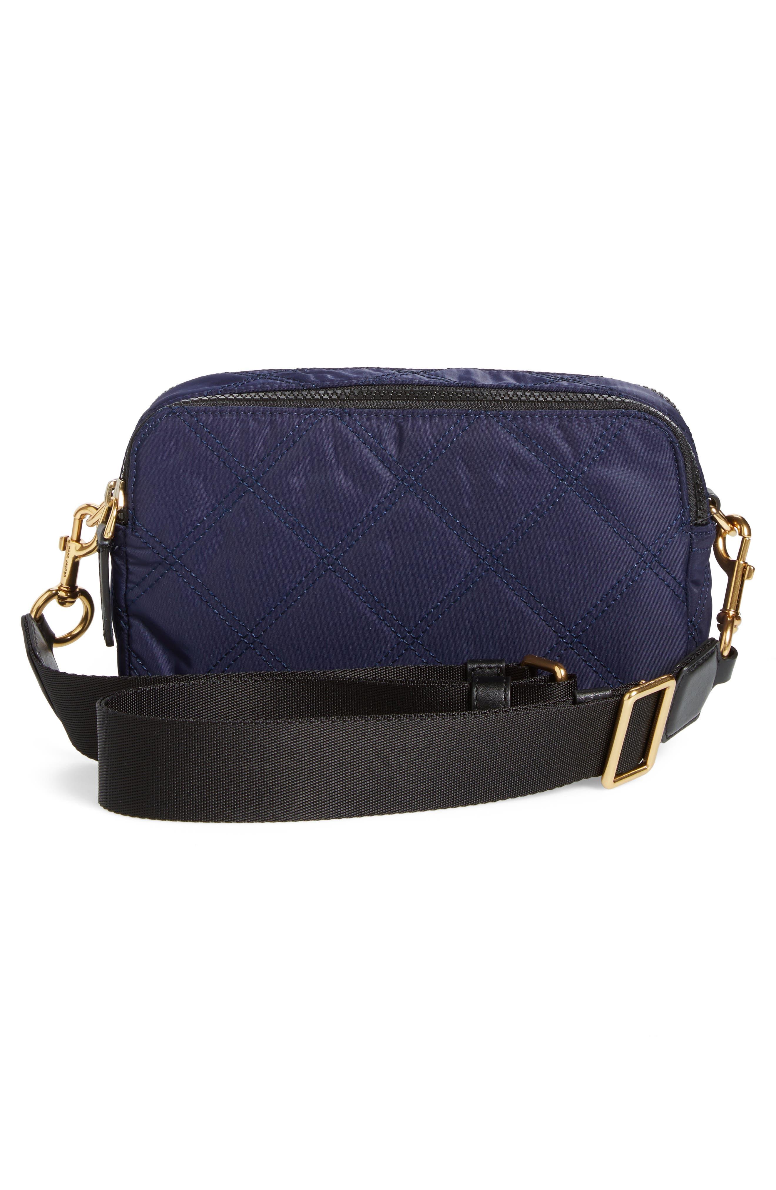 Nylon Knot Crossbody Bag,                             Alternate thumbnail 9, color,