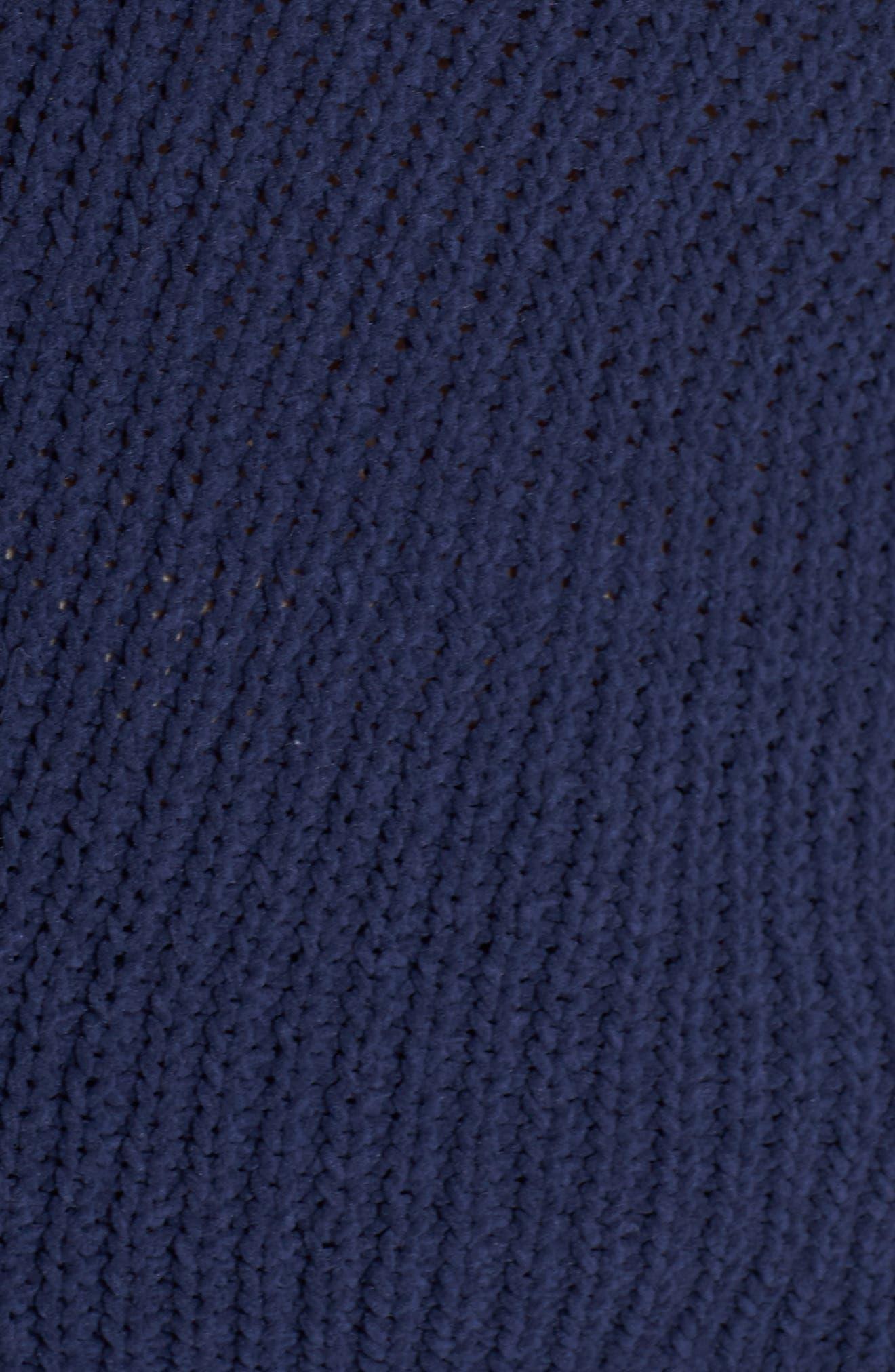CASLON<SUP>®</SUP>,                             Chenille Crewneck Sweater,                             Alternate thumbnail 5, color,                             401