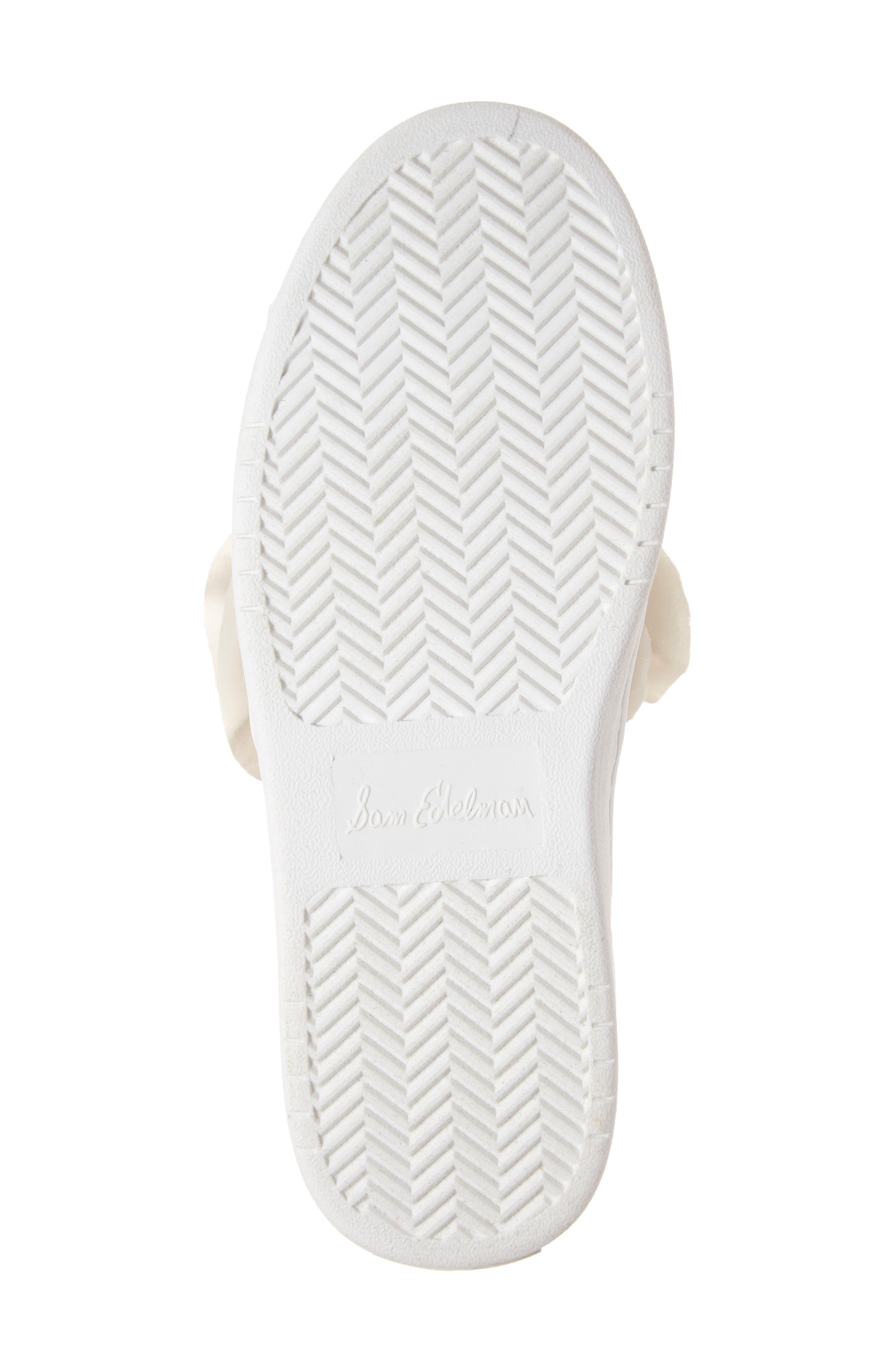 Blane Unicorn Slip-On Sneaker,                             Alternate thumbnail 6, color,                             WHITE SHIMMER