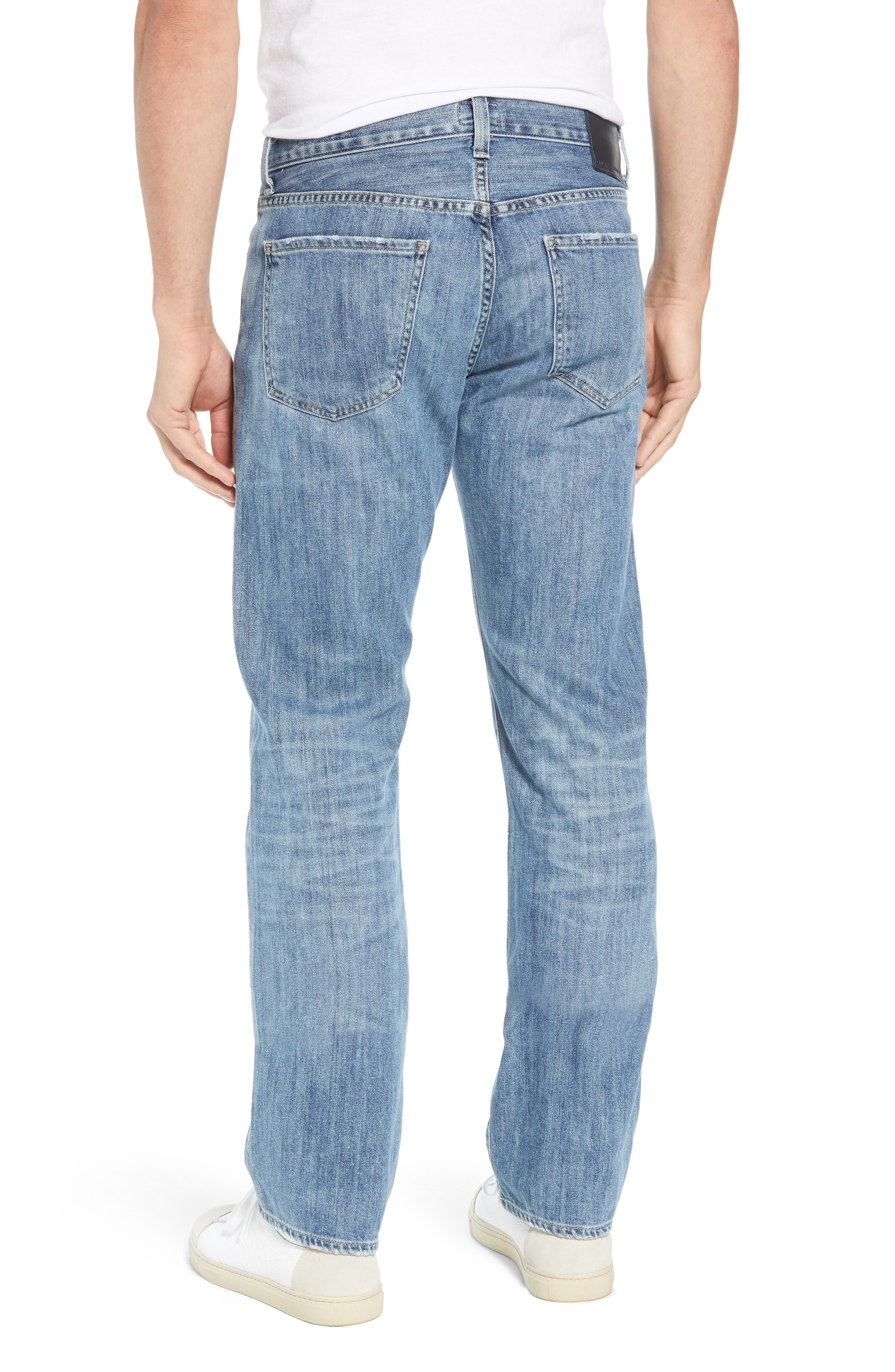 Sid Straight Leg Jeans,                             Alternate thumbnail 2, color,                             464