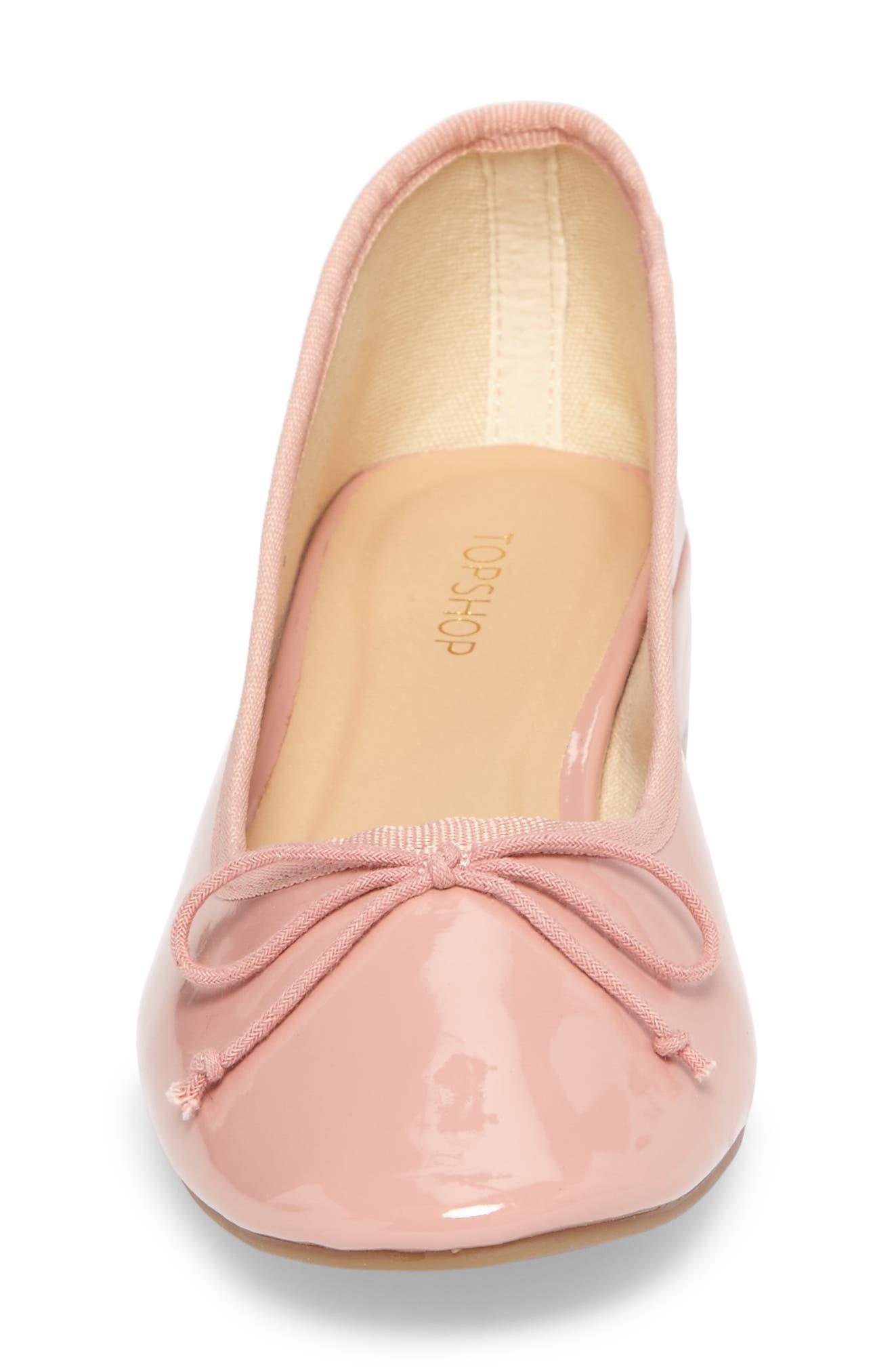 Glory Heeled Ballerina Slippers,                             Alternate thumbnail 5, color,                             650