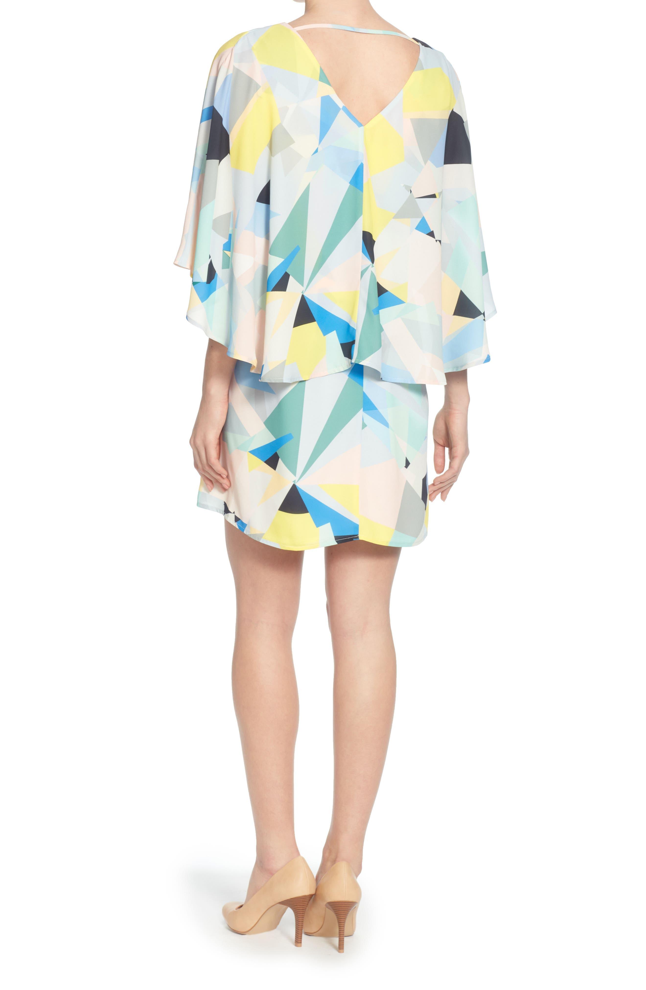 Violette Dress,                             Alternate thumbnail 2, color,                             BROKEN GLASS