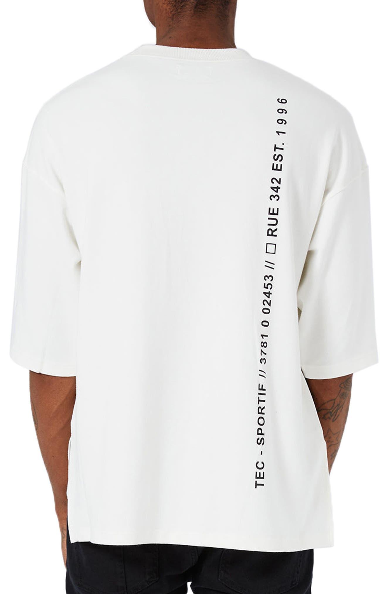 Circuit Print Sweatshirt,                             Alternate thumbnail 2, color,                             100