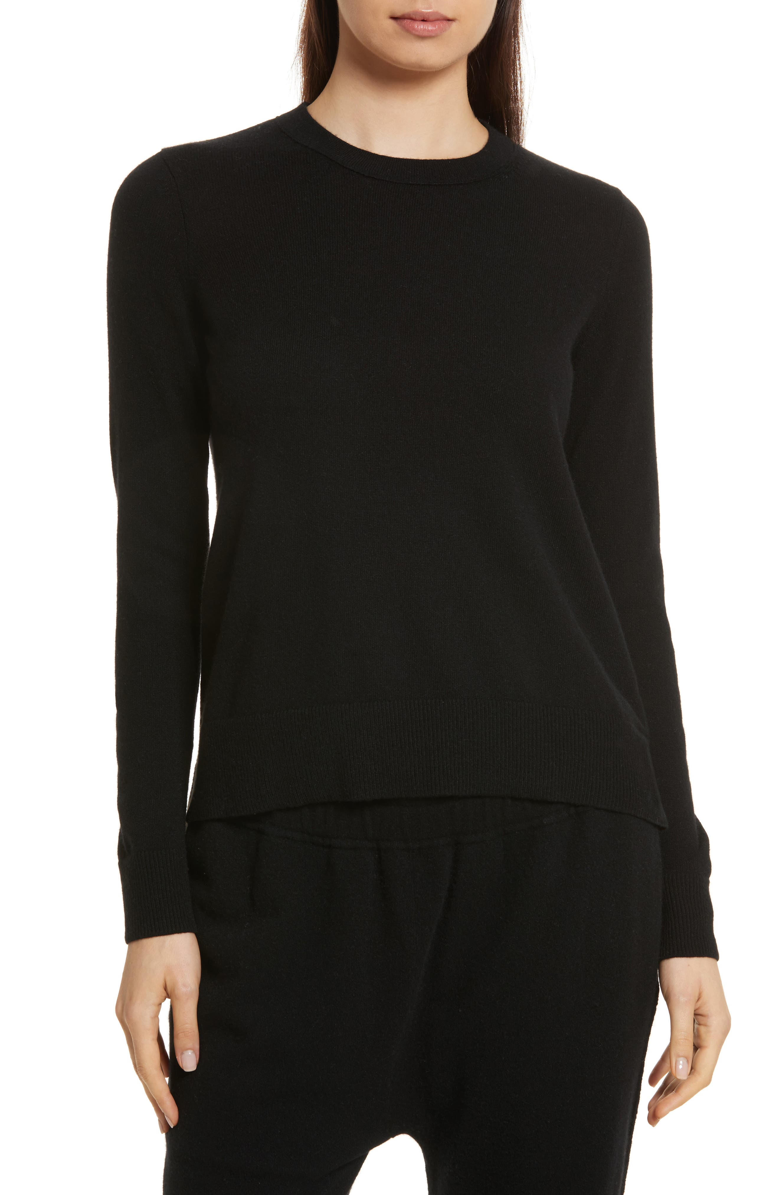 Cashmere Sweater,                         Main,                         color, 001