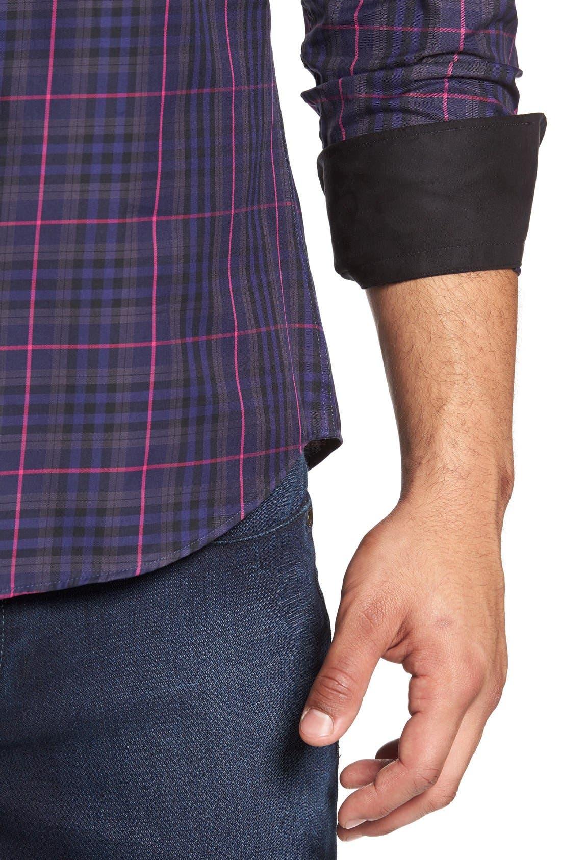 Plaid Sport Shirt,                             Alternate thumbnail 11, color,