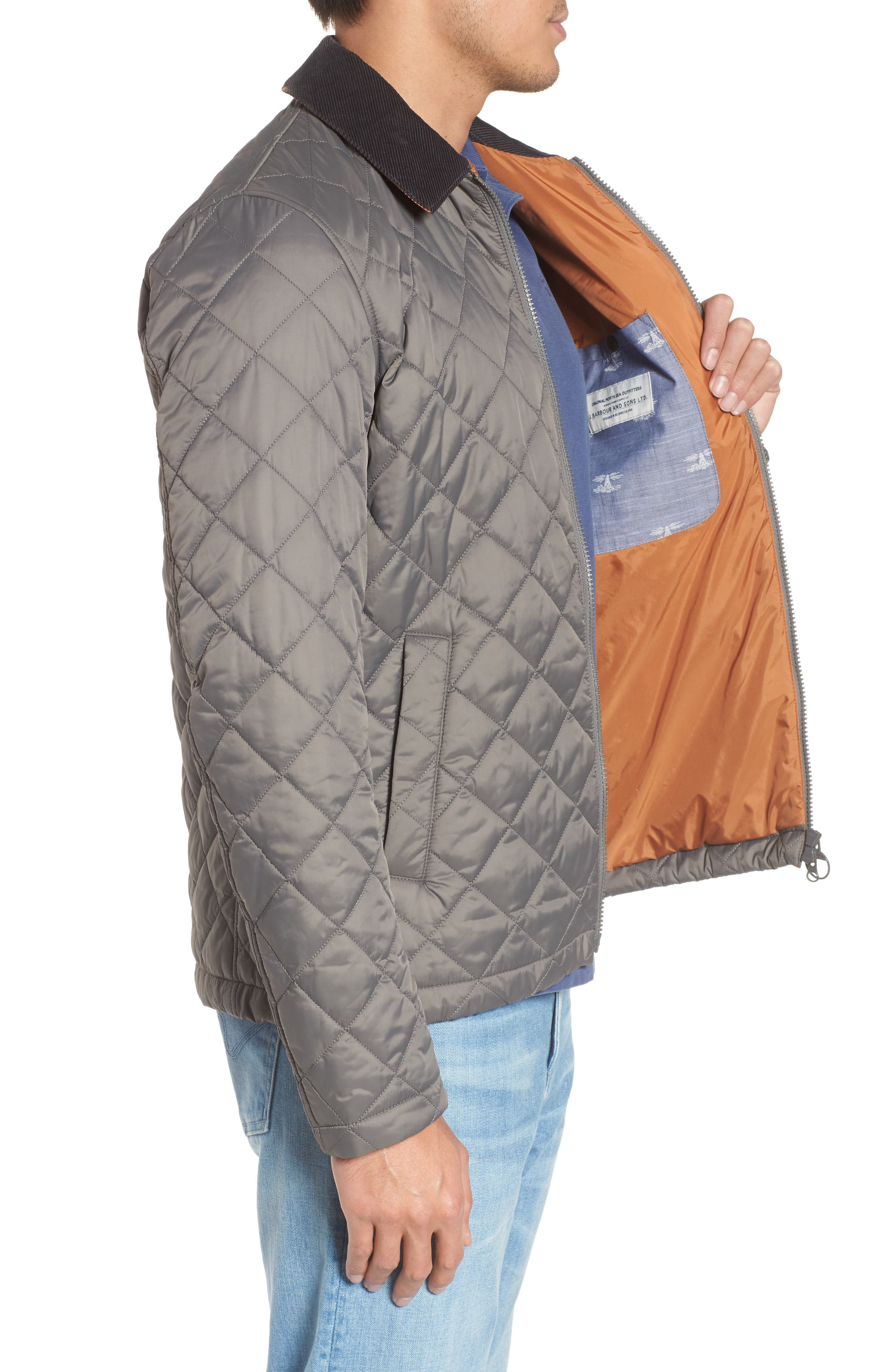 Helm Quilted Jacket,                             Alternate thumbnail 7, color,