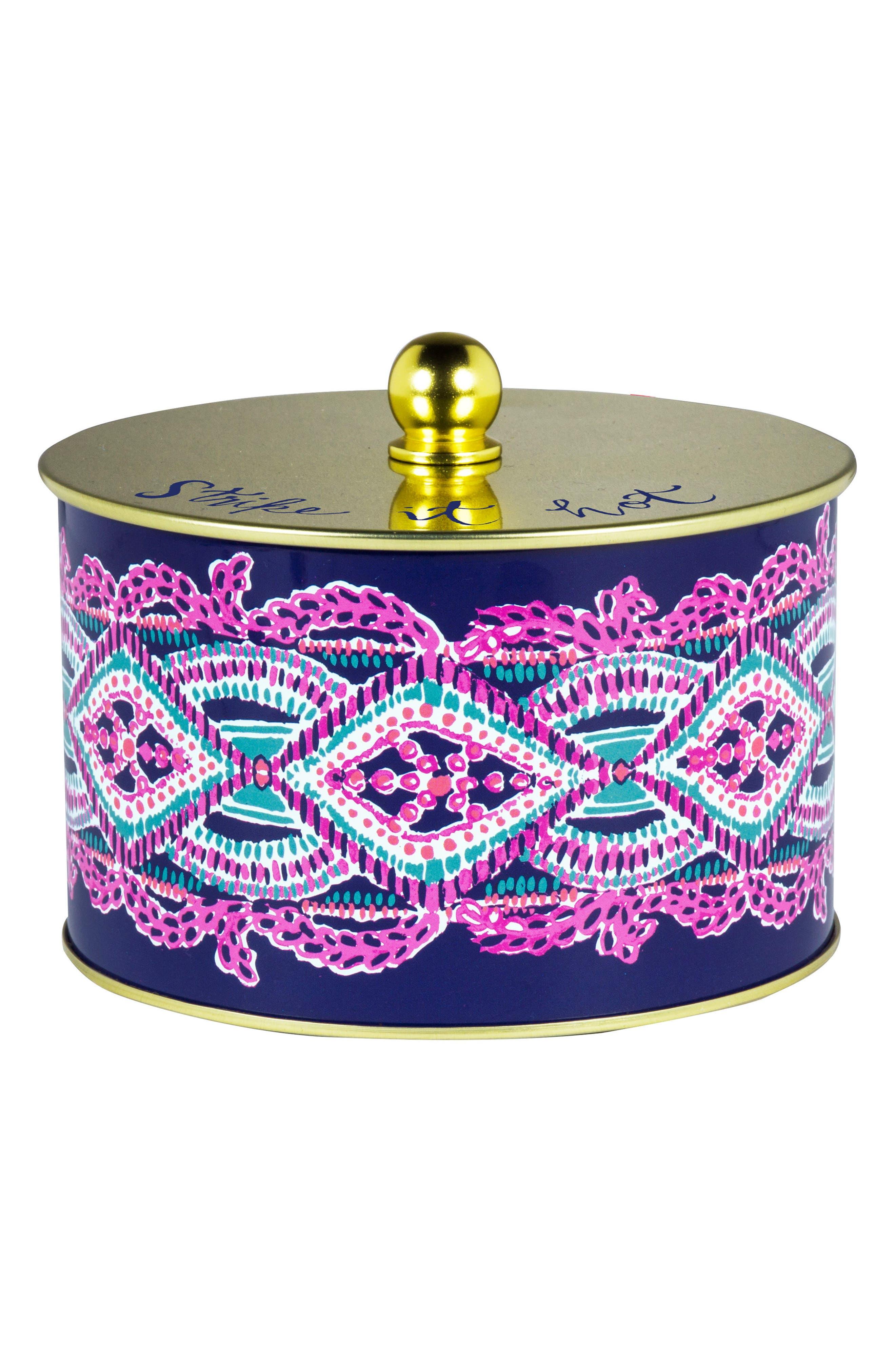 Three-Wick Jar Candle,                             Main thumbnail 1, color,                             SEAS THE DAY