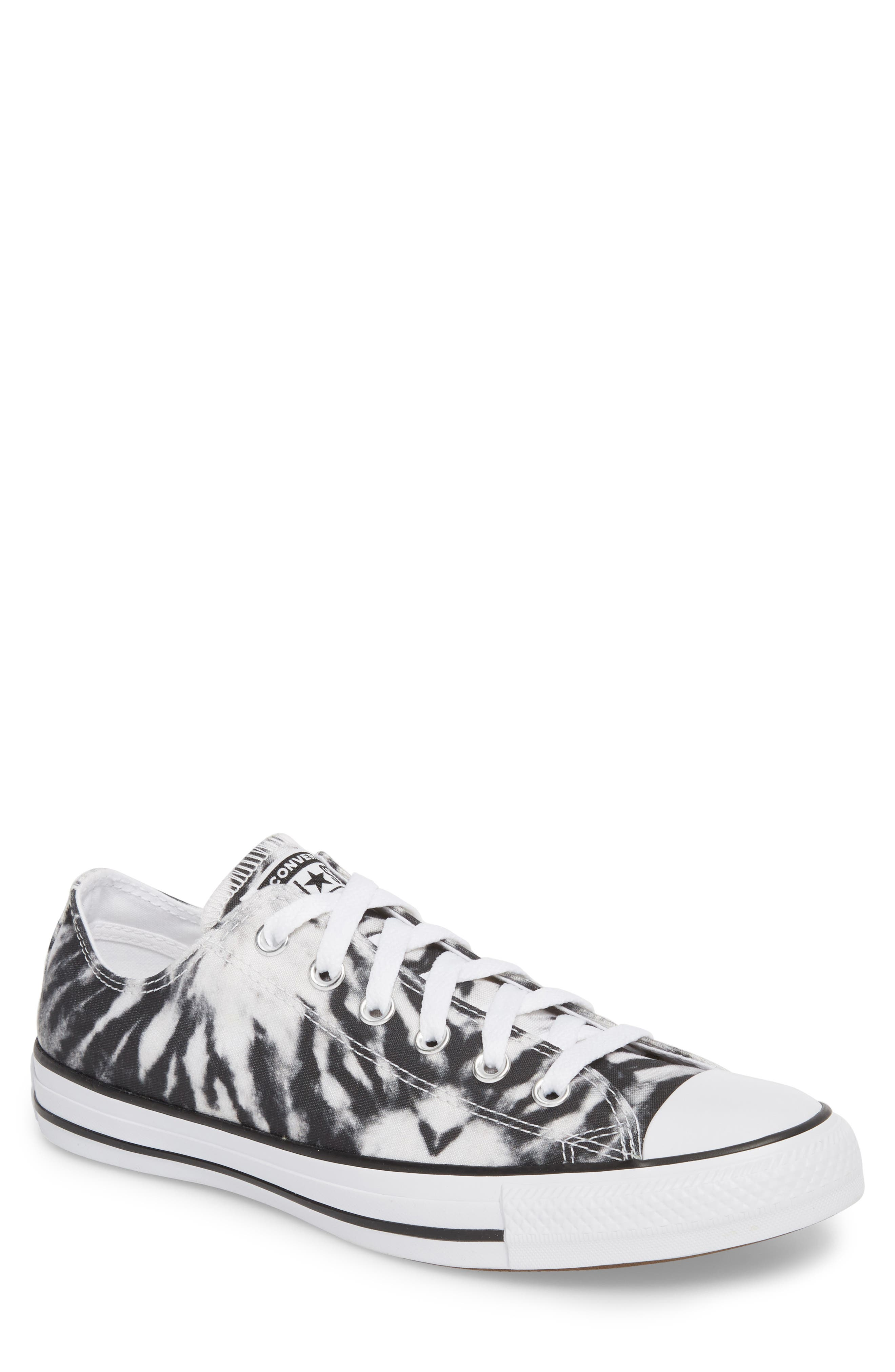 Chuck Taylor<sup>®</sup> All Star<sup>®</sup> Tie Dye Low Top Sneaker,                             Main thumbnail 1, color,                             001