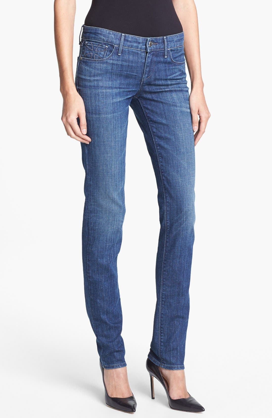 'Alice' Skinny Stretch Jeans, Main, color, 480