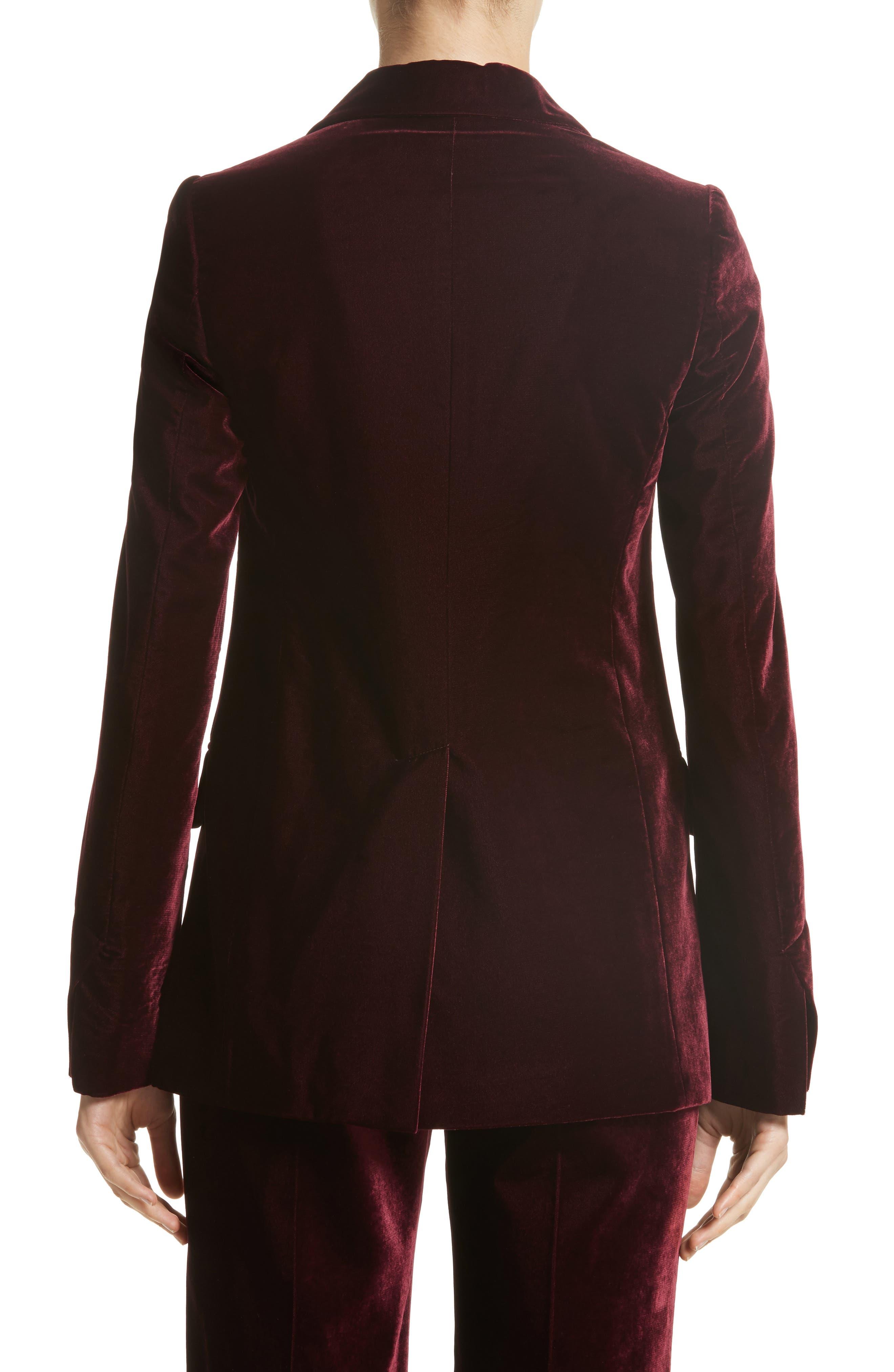 Bonded Velvet Jacket,                             Alternate thumbnail 2, color,                             930