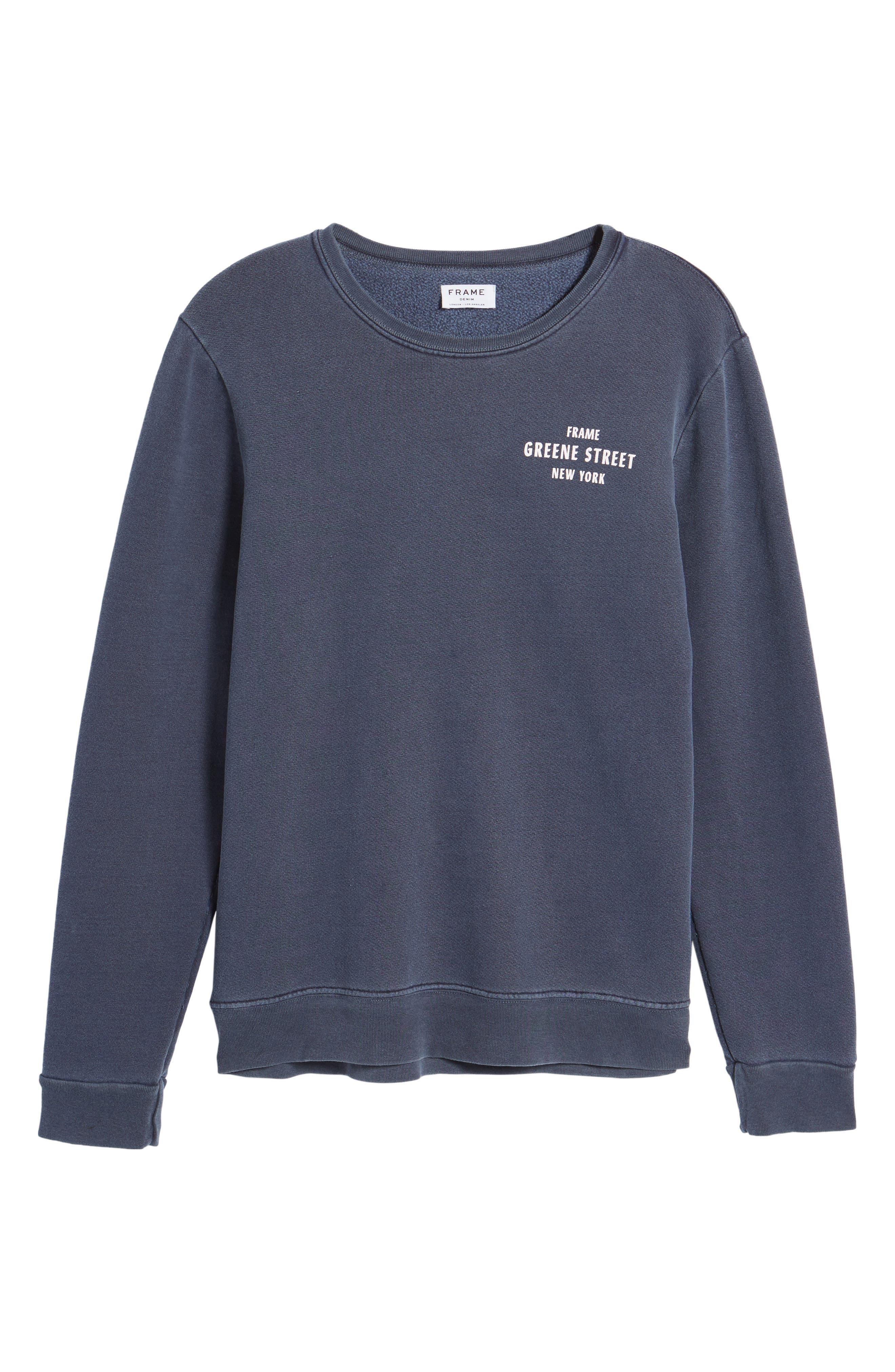 Vintage Crewneck Sweatshirt,                             Alternate thumbnail 17, color,