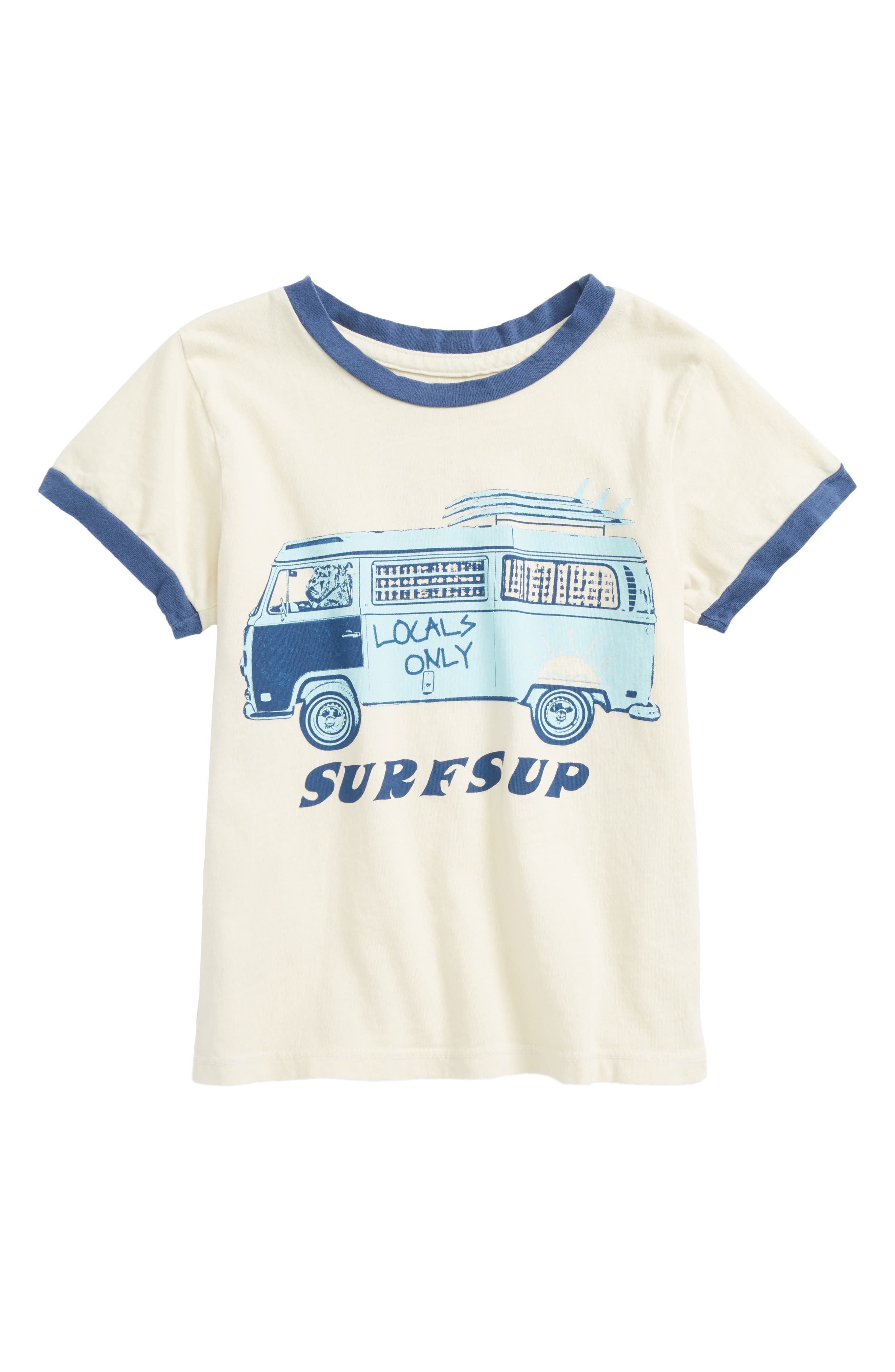 Surfs Up Ringer T-Shirt,                         Main,                         color, 900