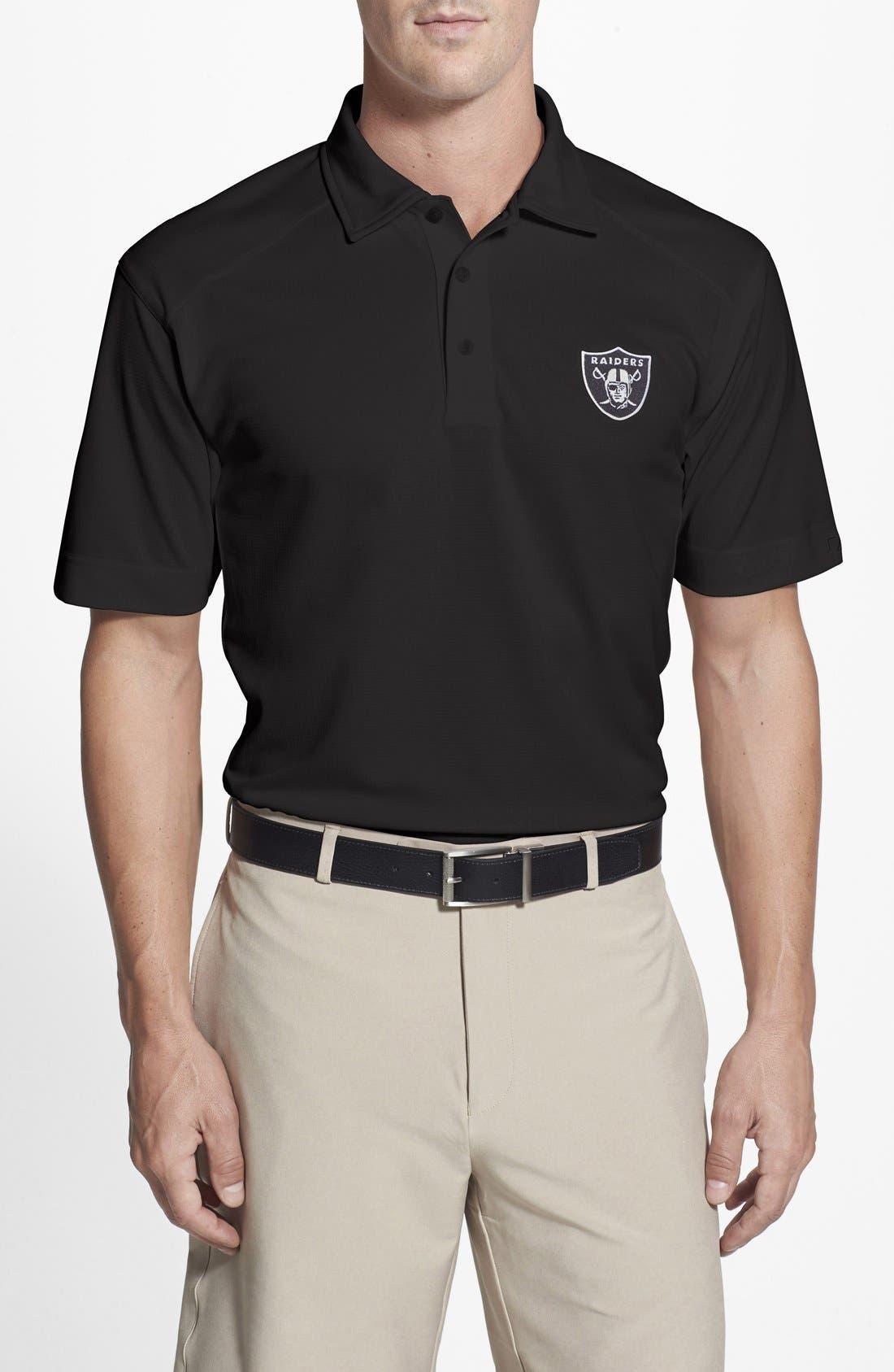 Oakland Raiders - Genre DryTec Moisture Wicking Polo,                         Main,                         color, 001