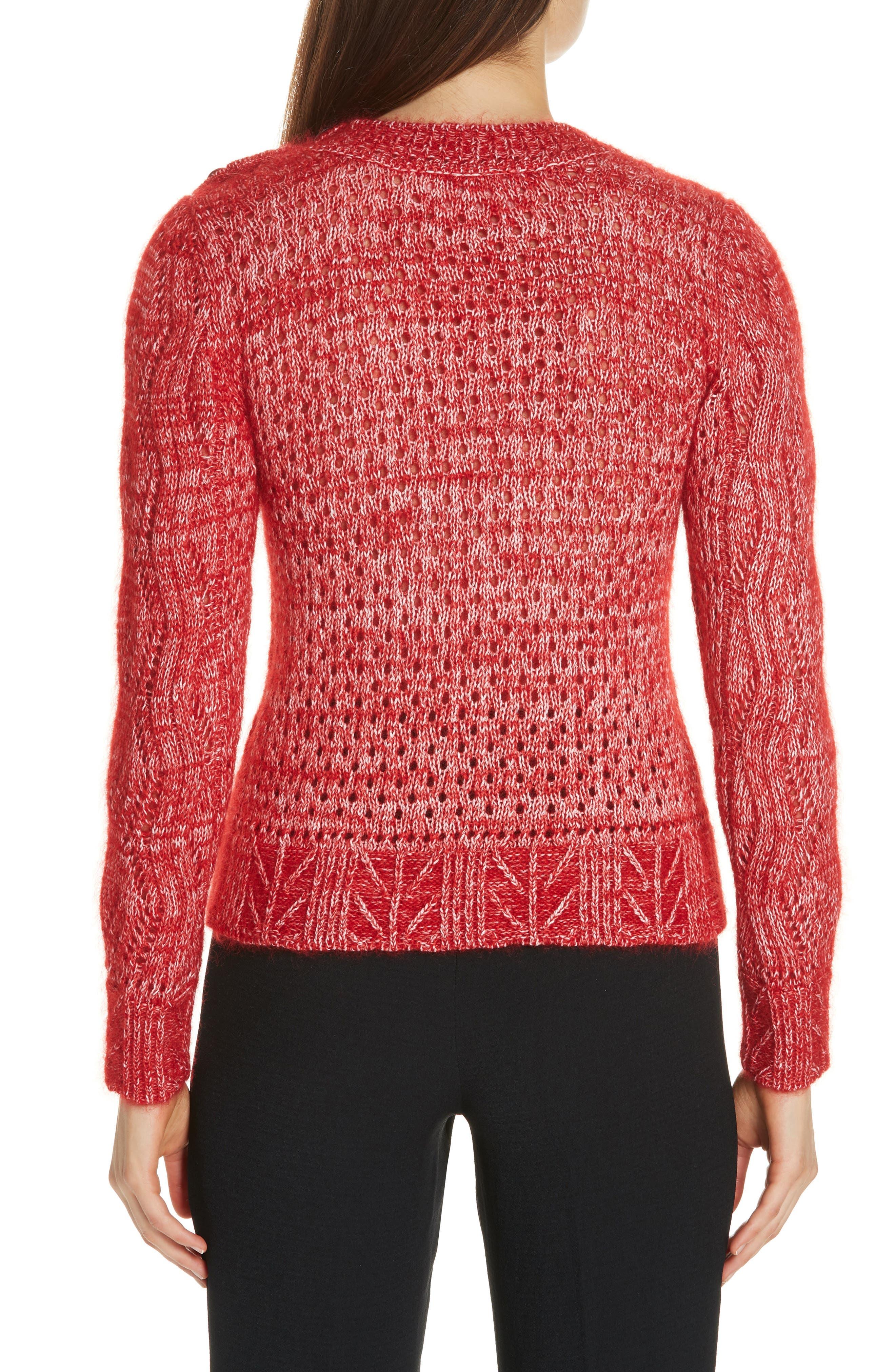 Numa Cotton & Silk Blend Sweater,                             Alternate thumbnail 2, color,                             600