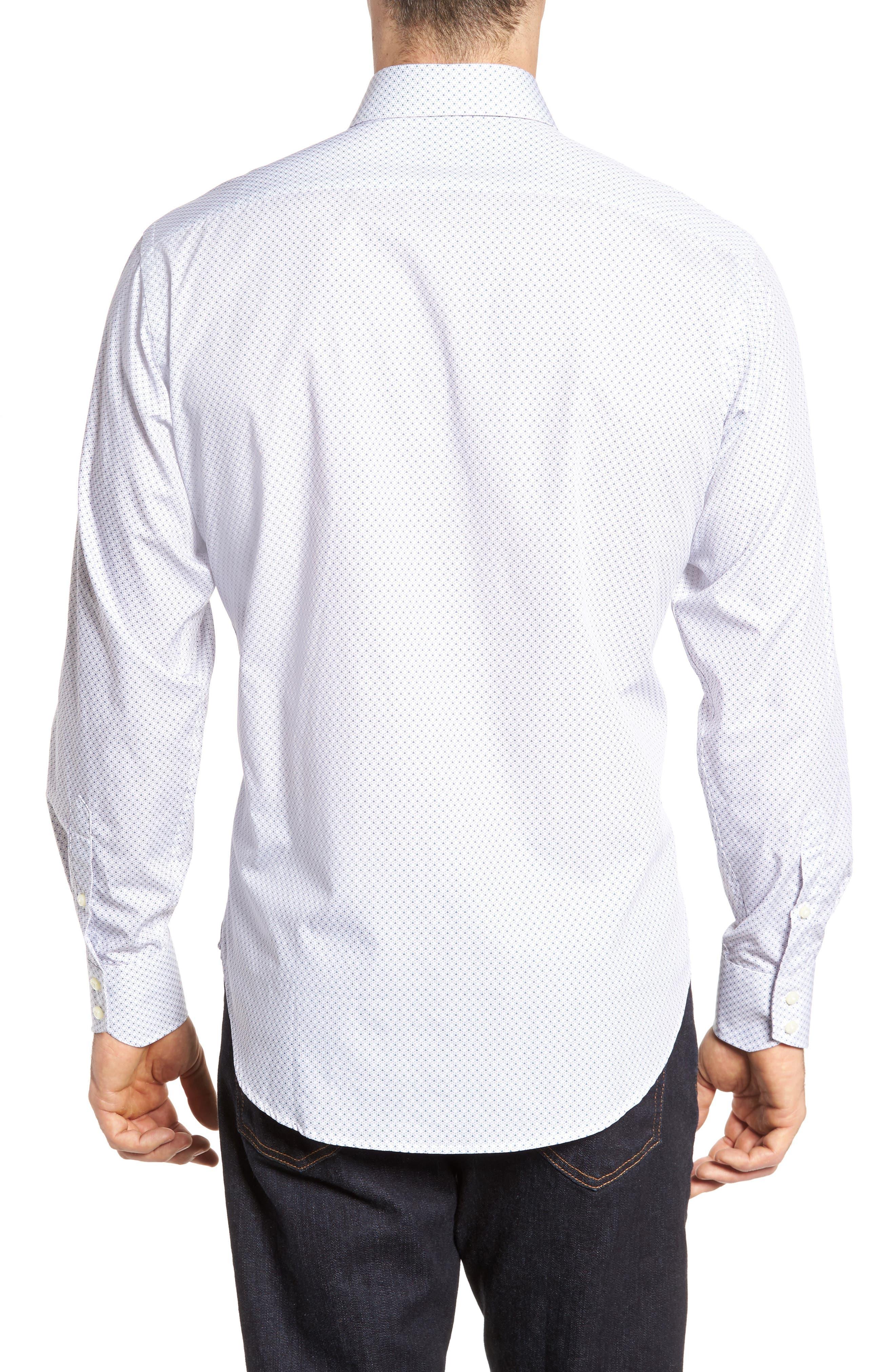 Regular Fit Print Sport Shirt,                             Alternate thumbnail 2, color,                             020