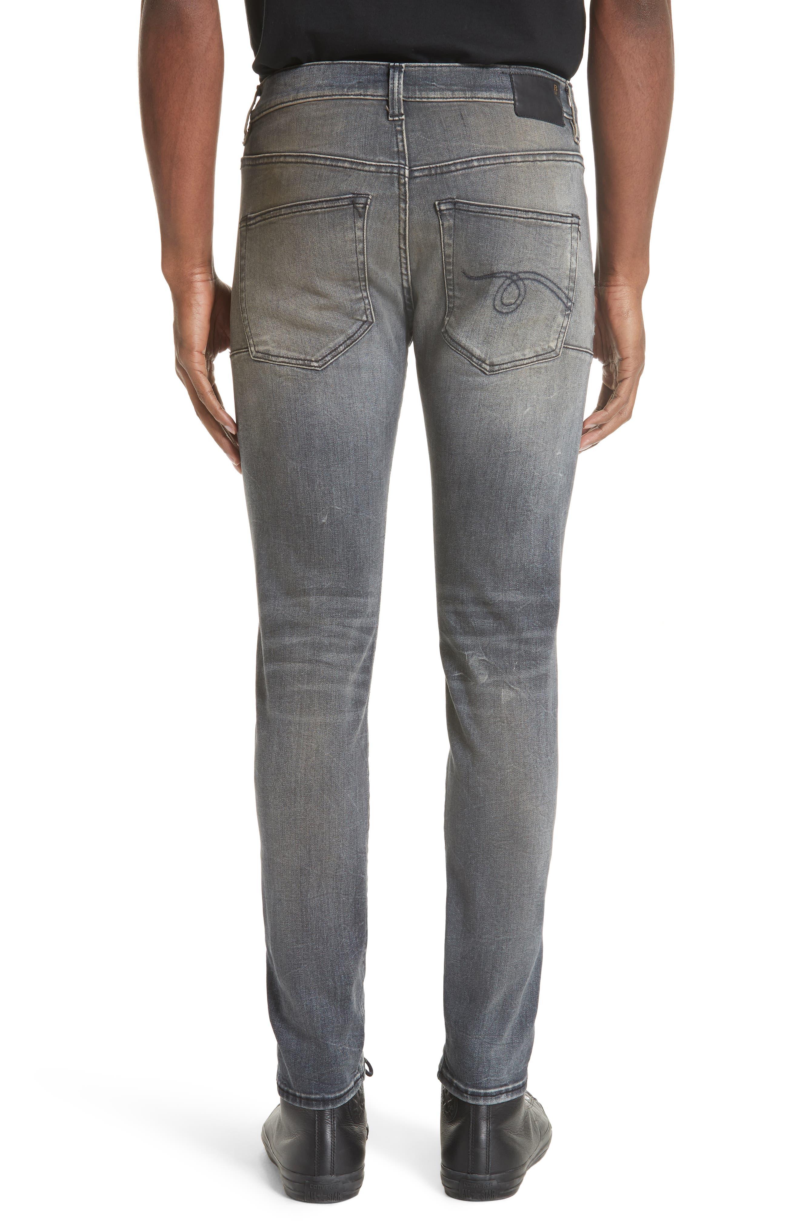 Skate Slim Fit Jeans,                             Alternate thumbnail 2, color,                             001