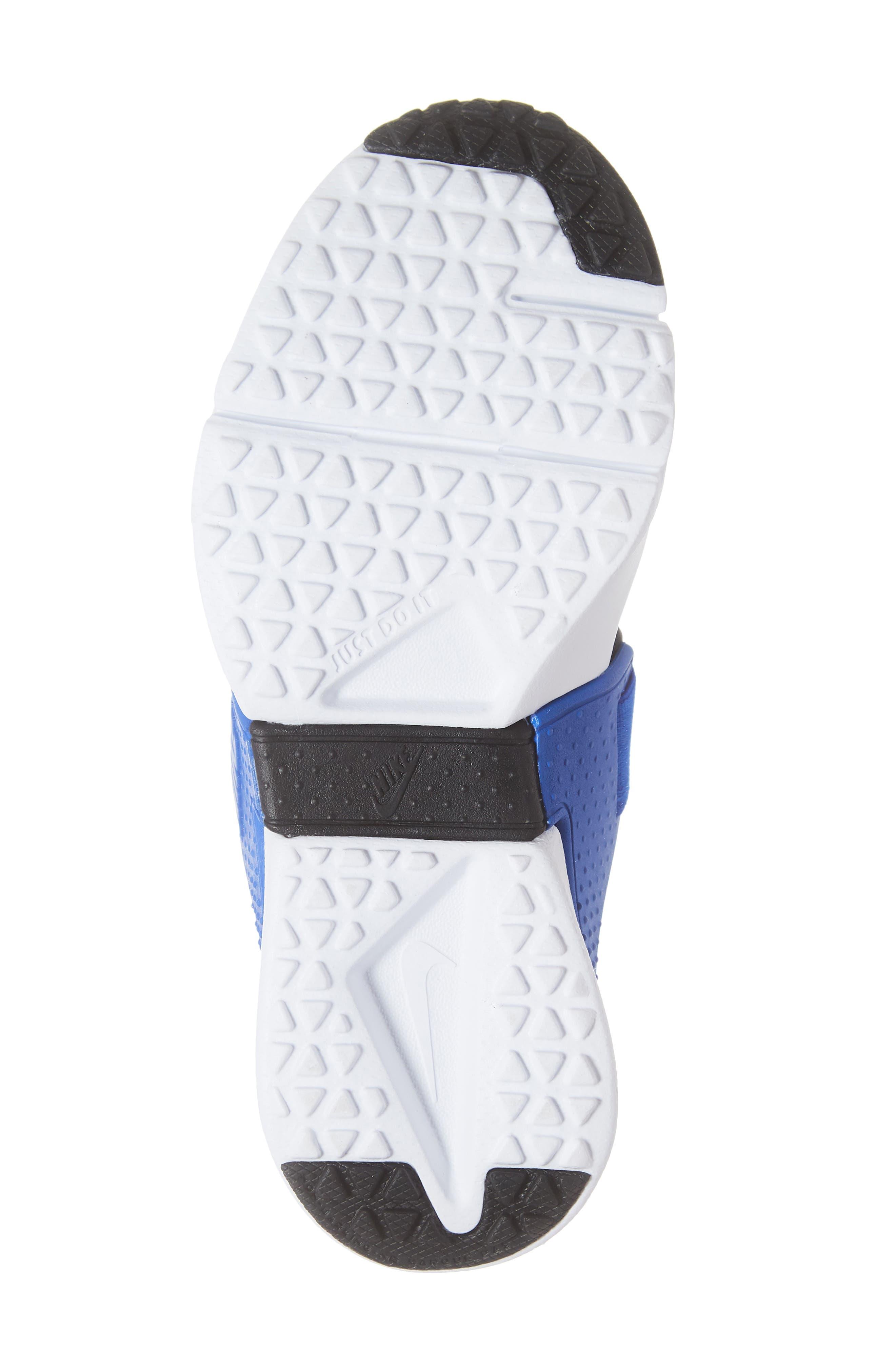 Huarache Extreme Sneaker,                             Alternate thumbnail 6, color,                             BLACK/ BLUE-WHITE