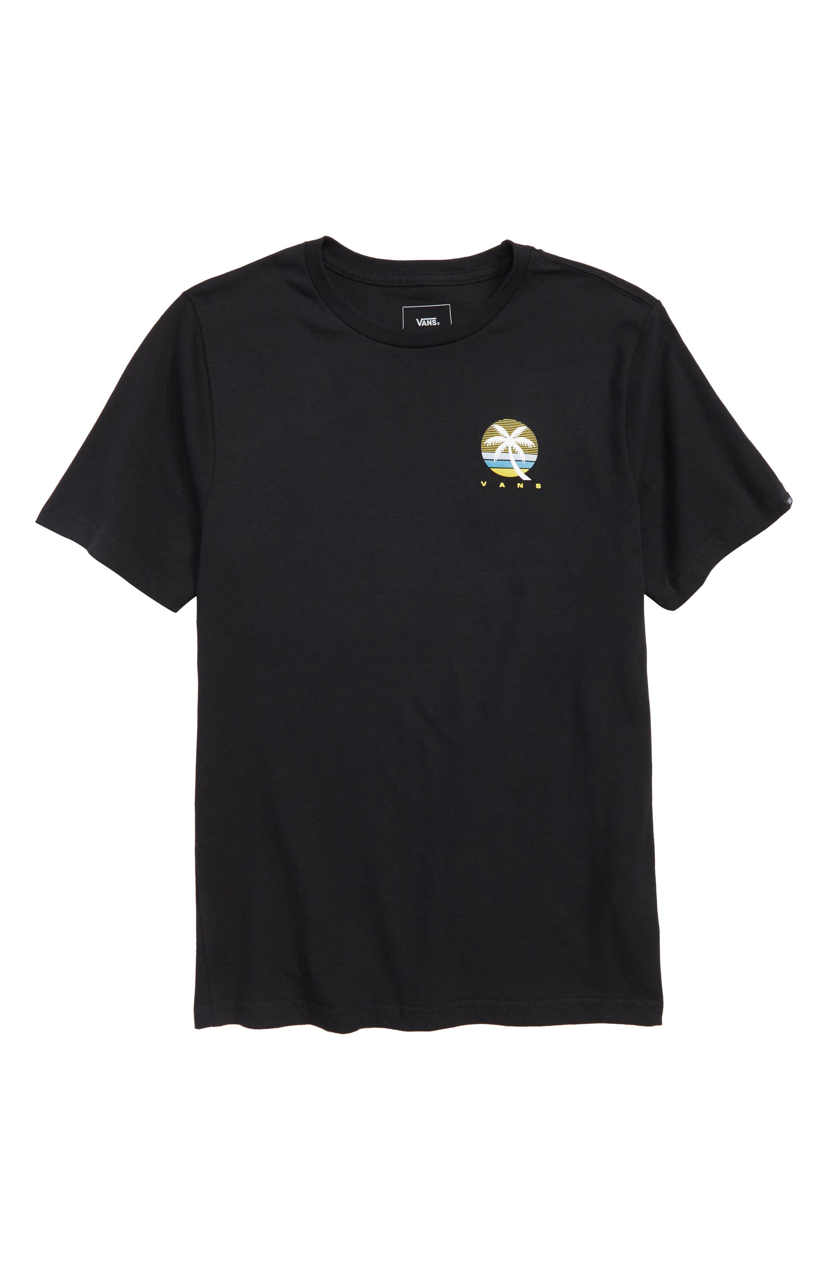 Vintage Tall Palms Graphic T-Shirt,                             Main thumbnail 1, color,                             001