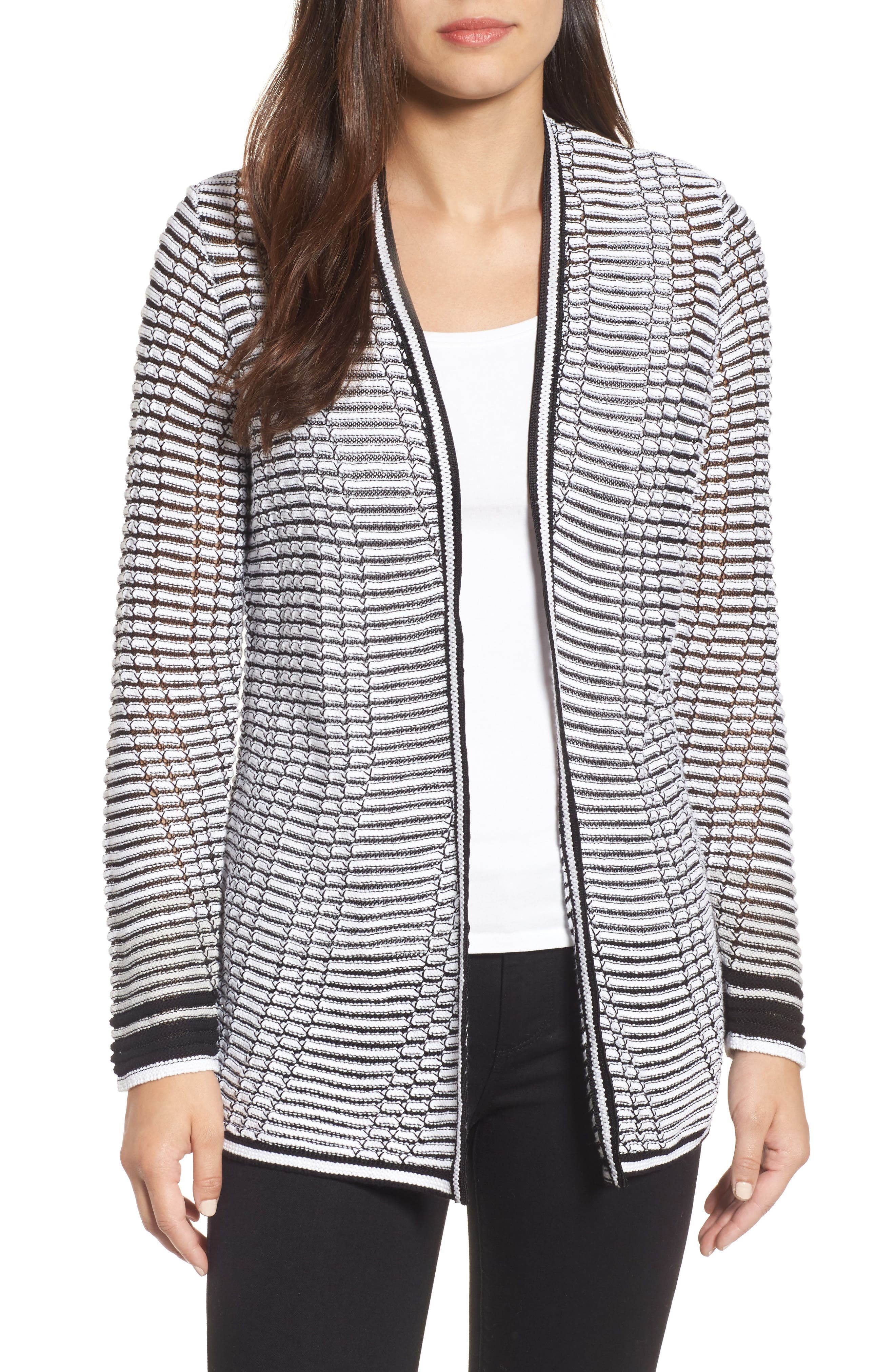 Striped Space Cardigan,                             Main thumbnail 1, color,                             055