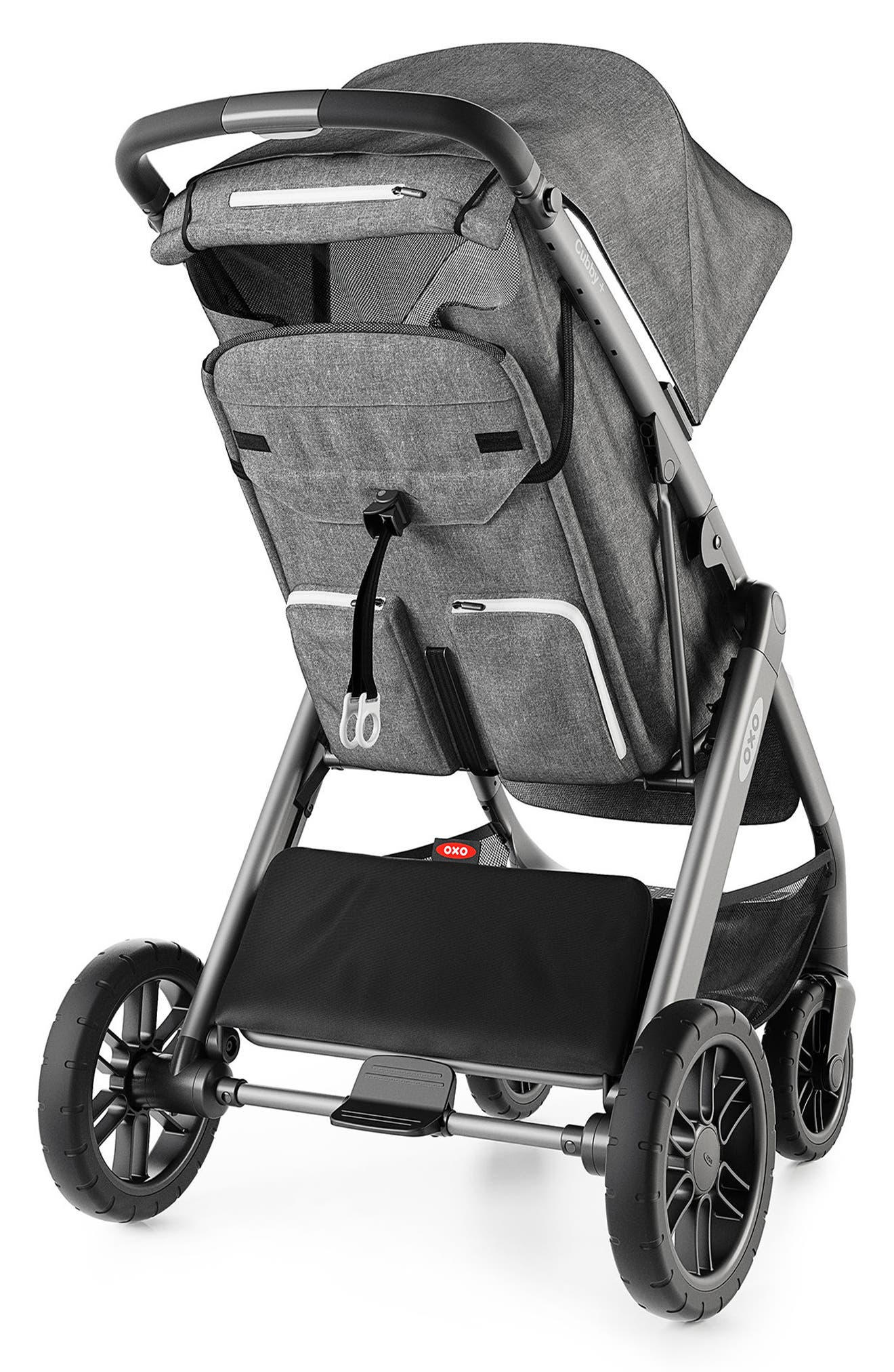 Cubby+ Stroller,                             Alternate thumbnail 2, color,                             HEATHER GRAY