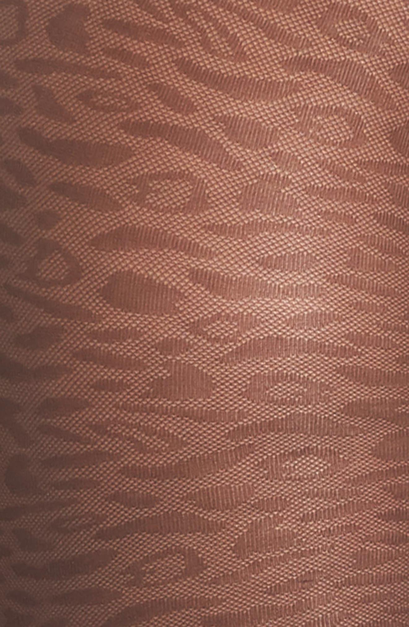 Emma Leopard Tights,                             Alternate thumbnail 2, color,                             205