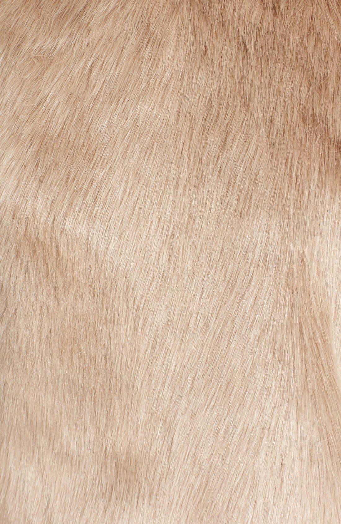 'Nimoy' Faux Fur Vest,                             Alternate thumbnail 3, color,                             340