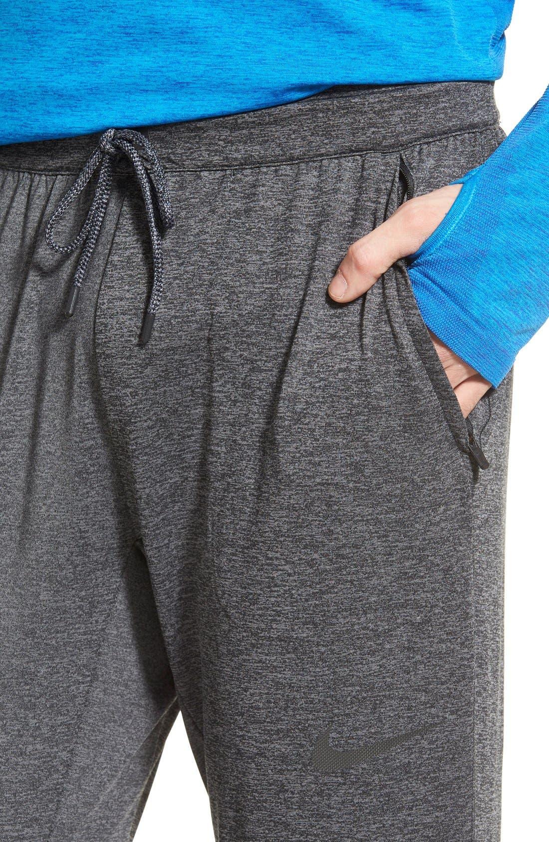 NIKE,                             'Ultimate Dry Knit' Dri-FIT Training Pants,                             Alternate thumbnail 2, color,                             010