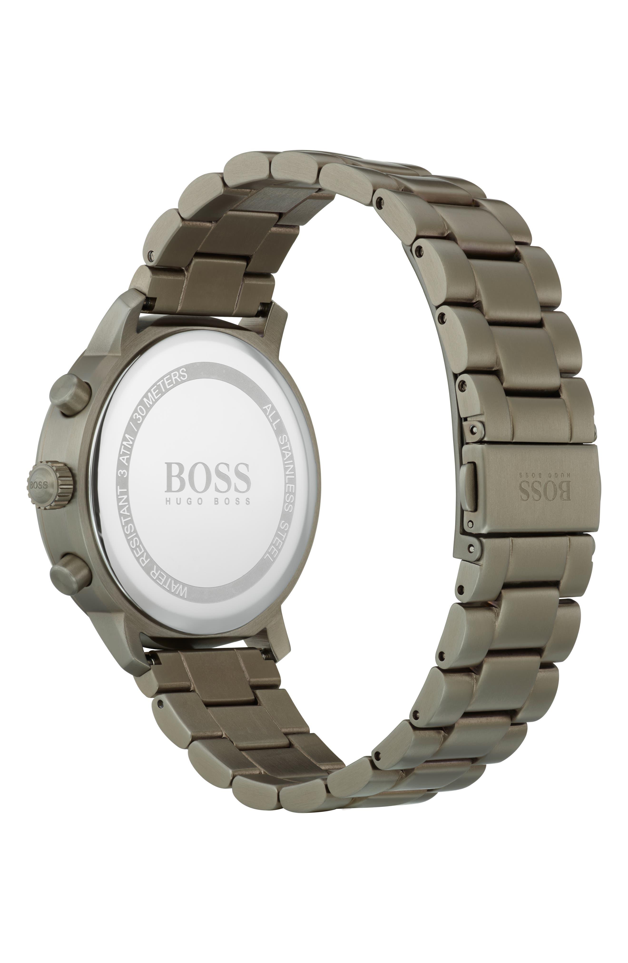 Attitude Chronograph Bracelet Watch, 44mm,                             Alternate thumbnail 2, color,                             BLUE