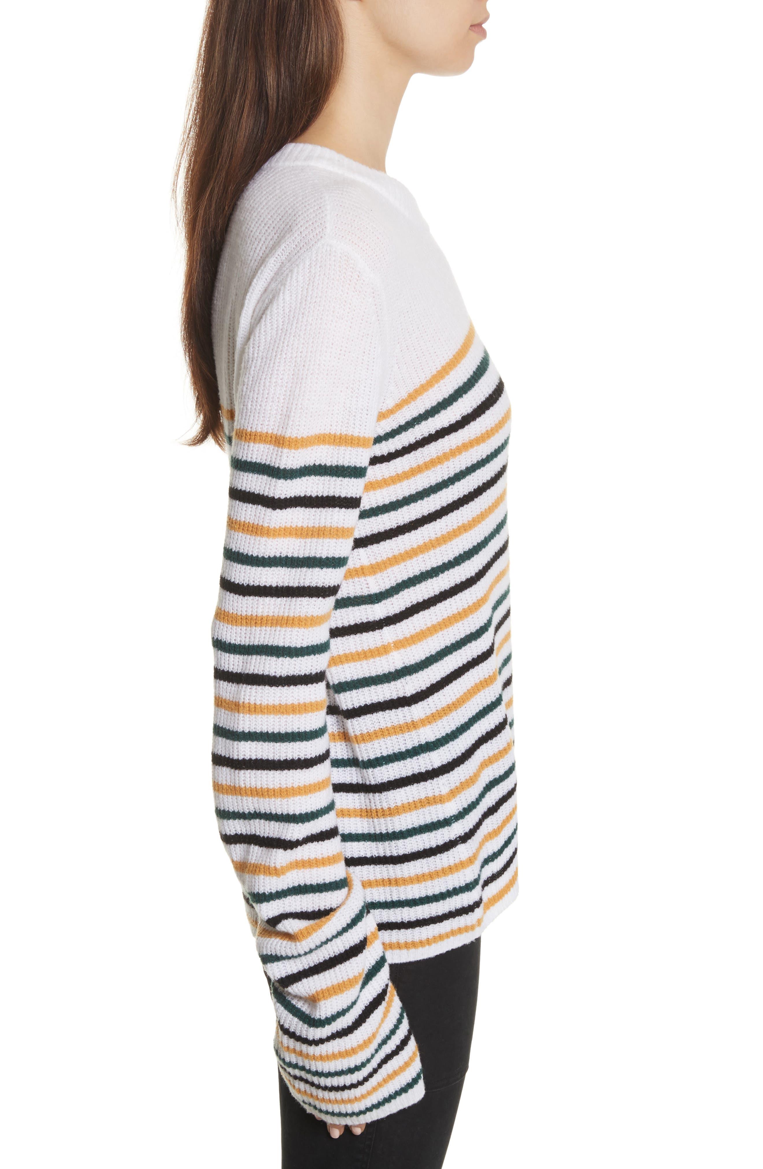 Meryl Stripe Sweater,                             Alternate thumbnail 6, color,