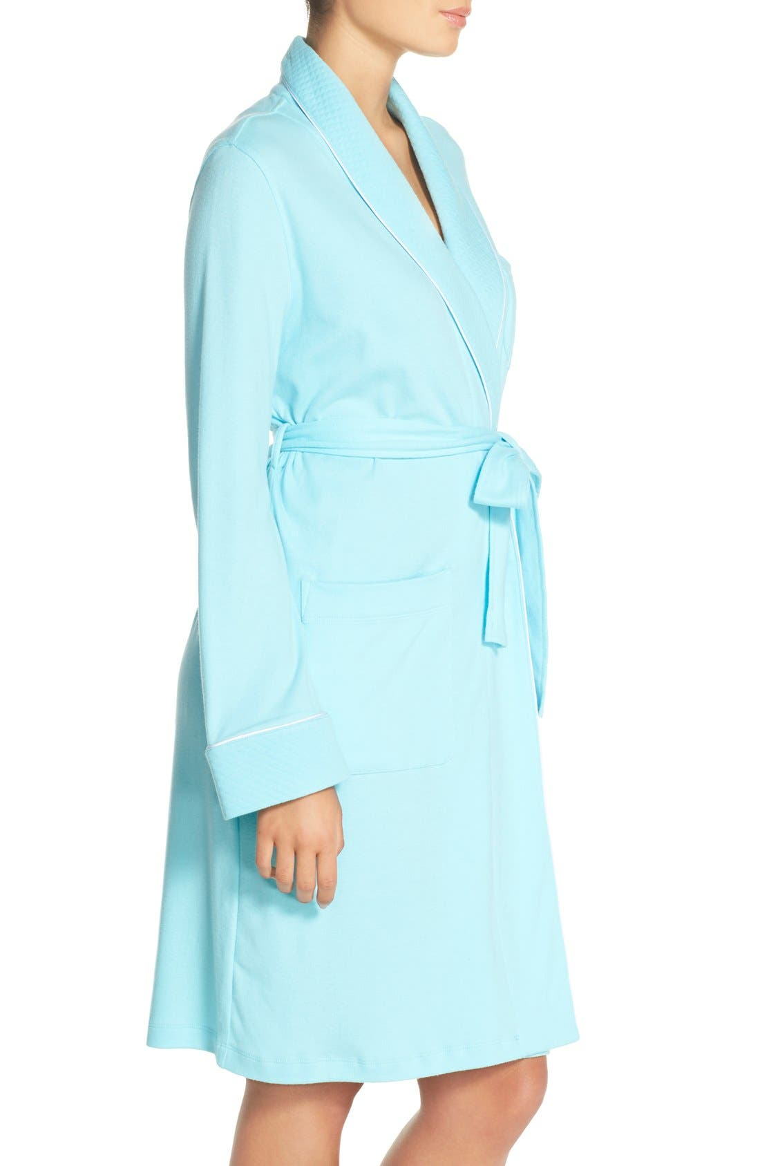Quilted Collar Robe,                             Alternate thumbnail 45, color,