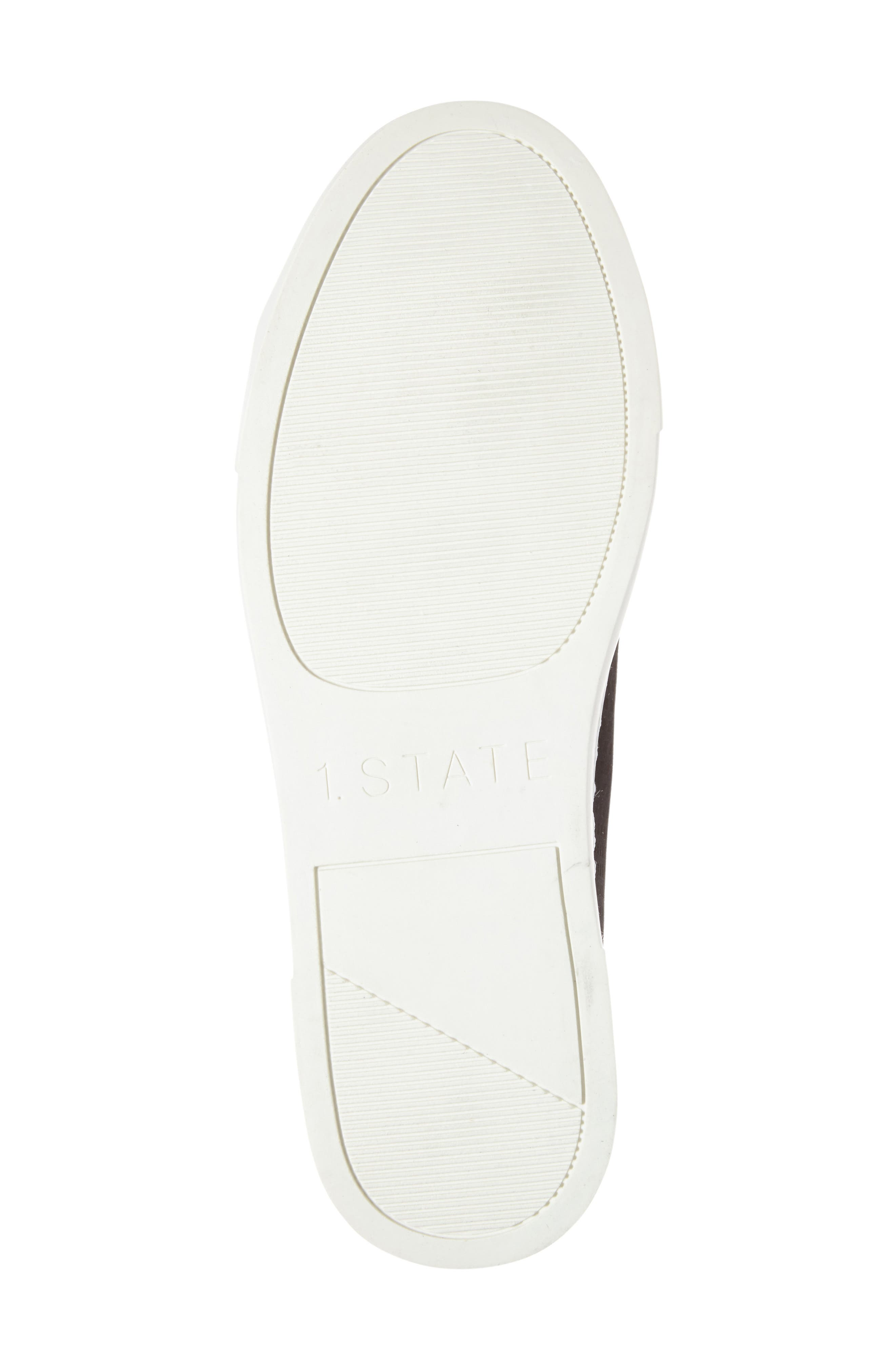 Dulcia Perforated High-Top Sneaker,                             Alternate thumbnail 4, color,                             001