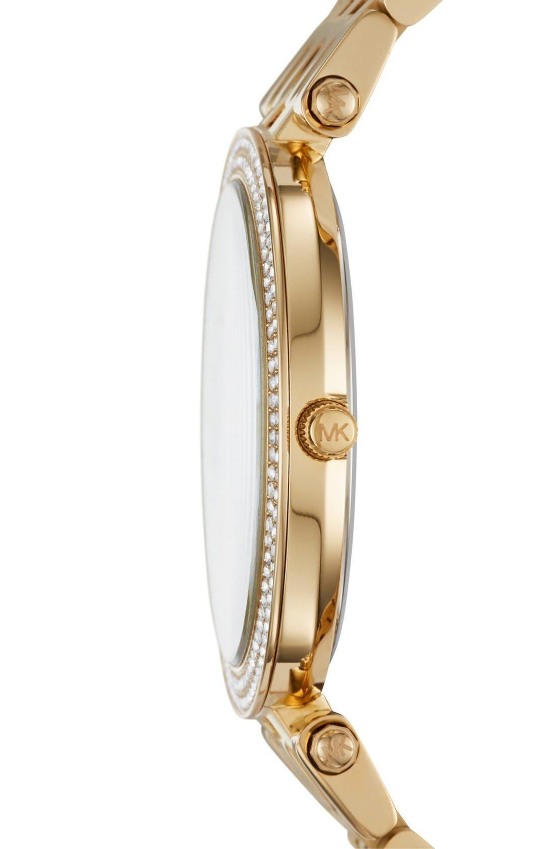 'Darci' Round Bracelet Watch, 39mm,                             Alternate thumbnail 39, color,