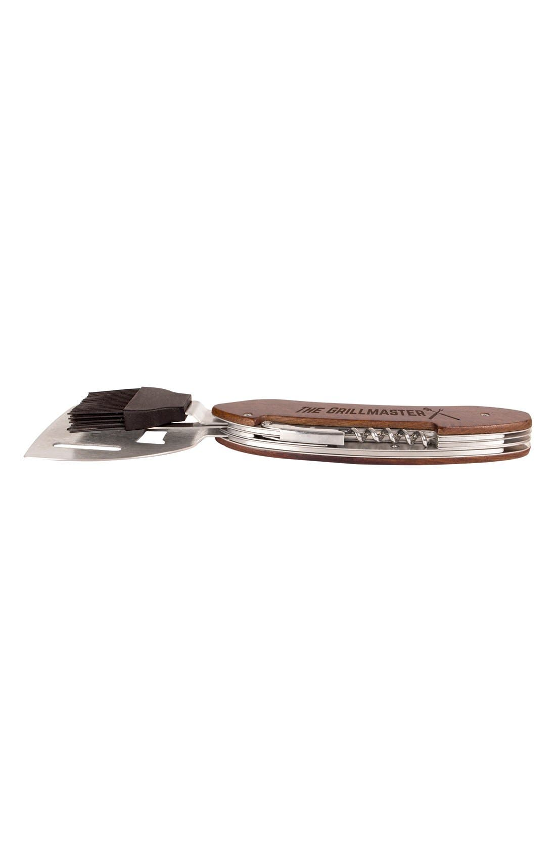 'Grillmaster' BBQ Multi Tool,                             Alternate thumbnail 3, color,                             BROWN