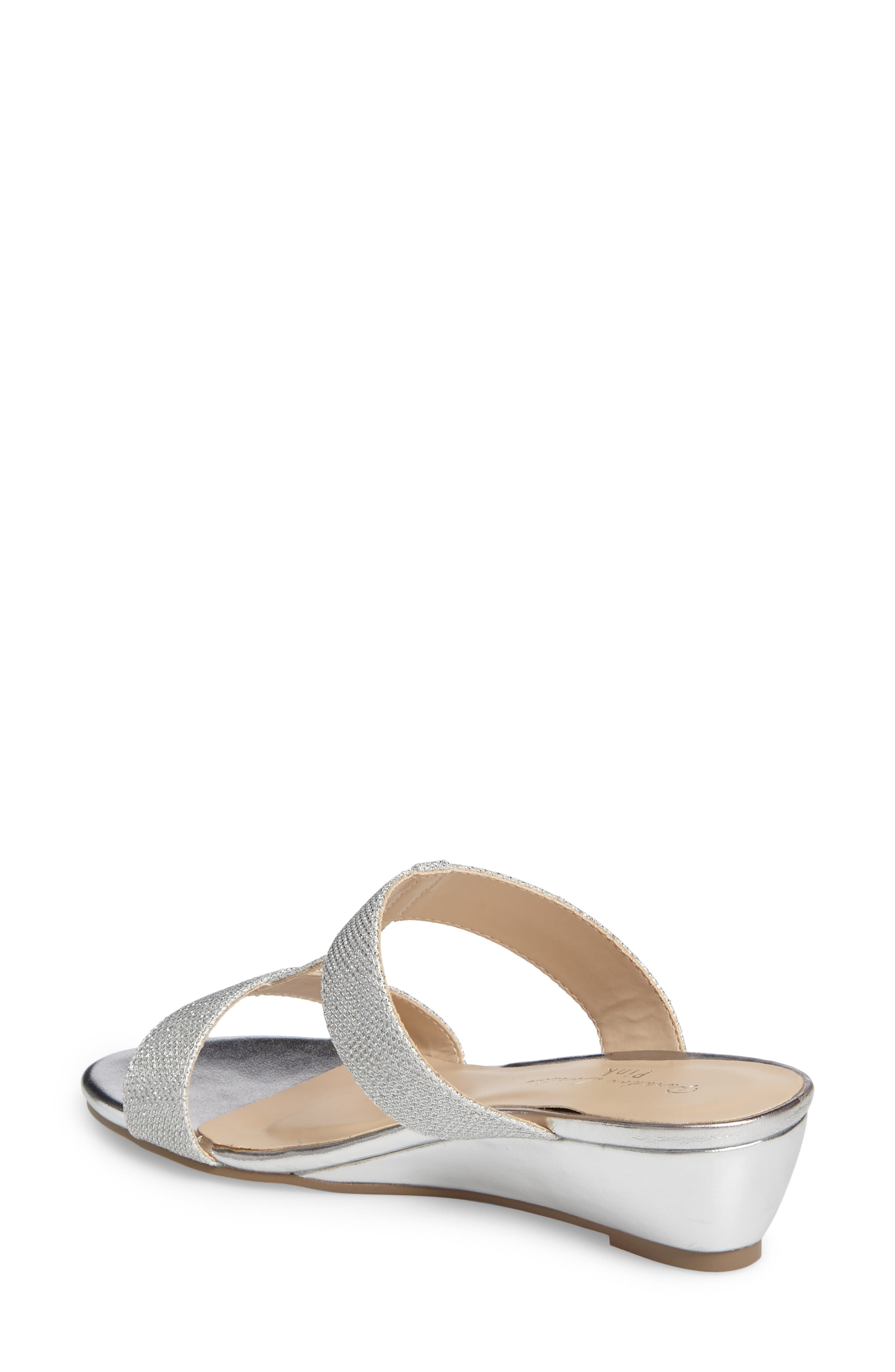 Melina Wedge Slide Sandal,                             Alternate thumbnail 3, color,