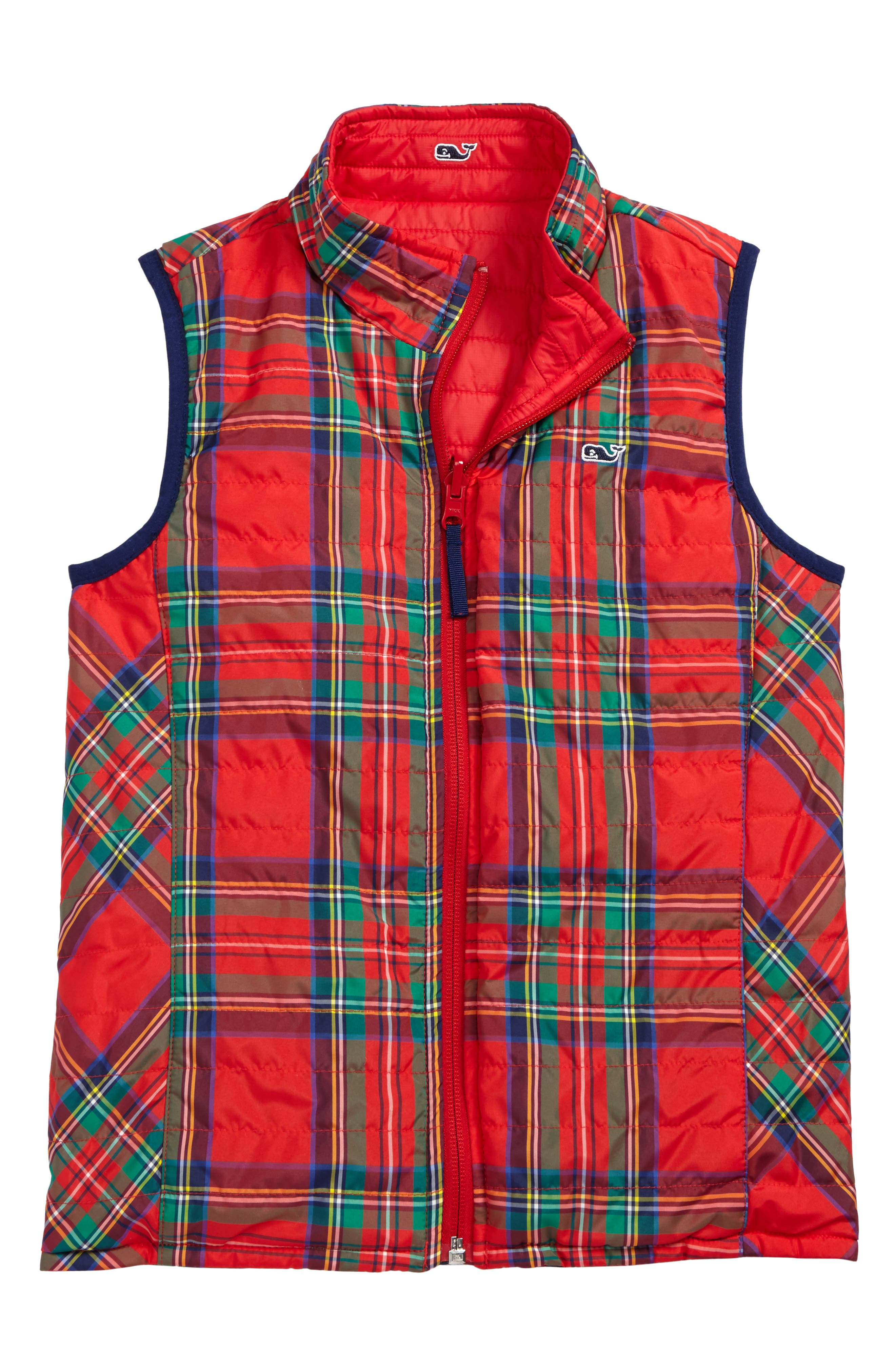 Reversible Puffer Vest,                             Alternate thumbnail 2, color,