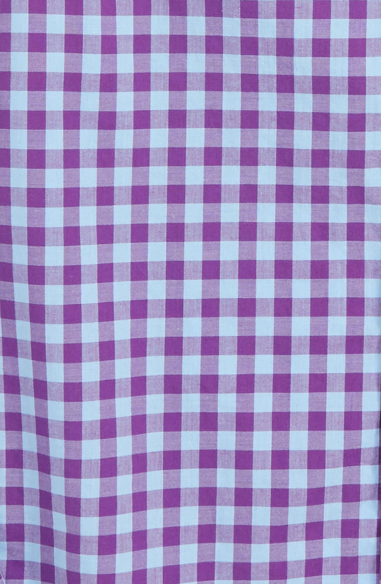 Foggy Quarter Gingham Whale Shirt,                             Alternate thumbnail 2, color,                             517
