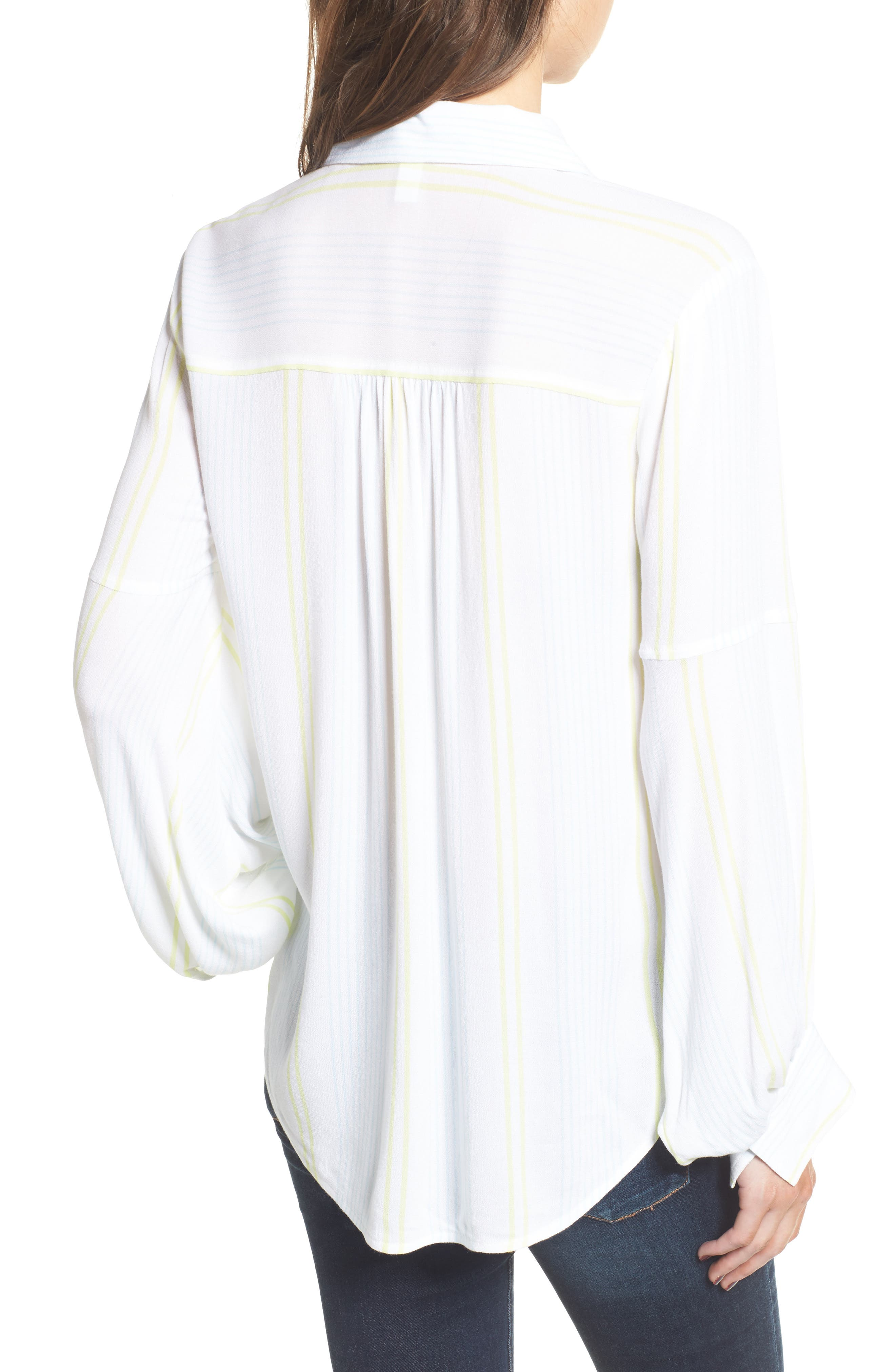 Blouson Sleeve Shirt,                             Alternate thumbnail 2, color,                             101