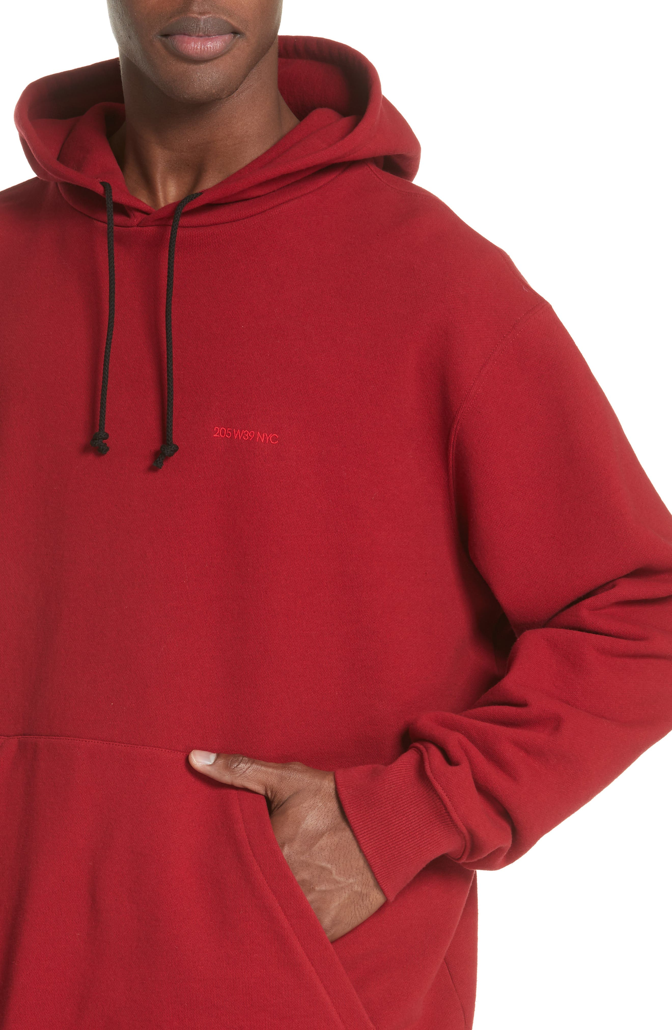 CALVIN KLEIN 205W39NYC,                             Oversize Hoodie,                             Alternate thumbnail 4, color,                             602