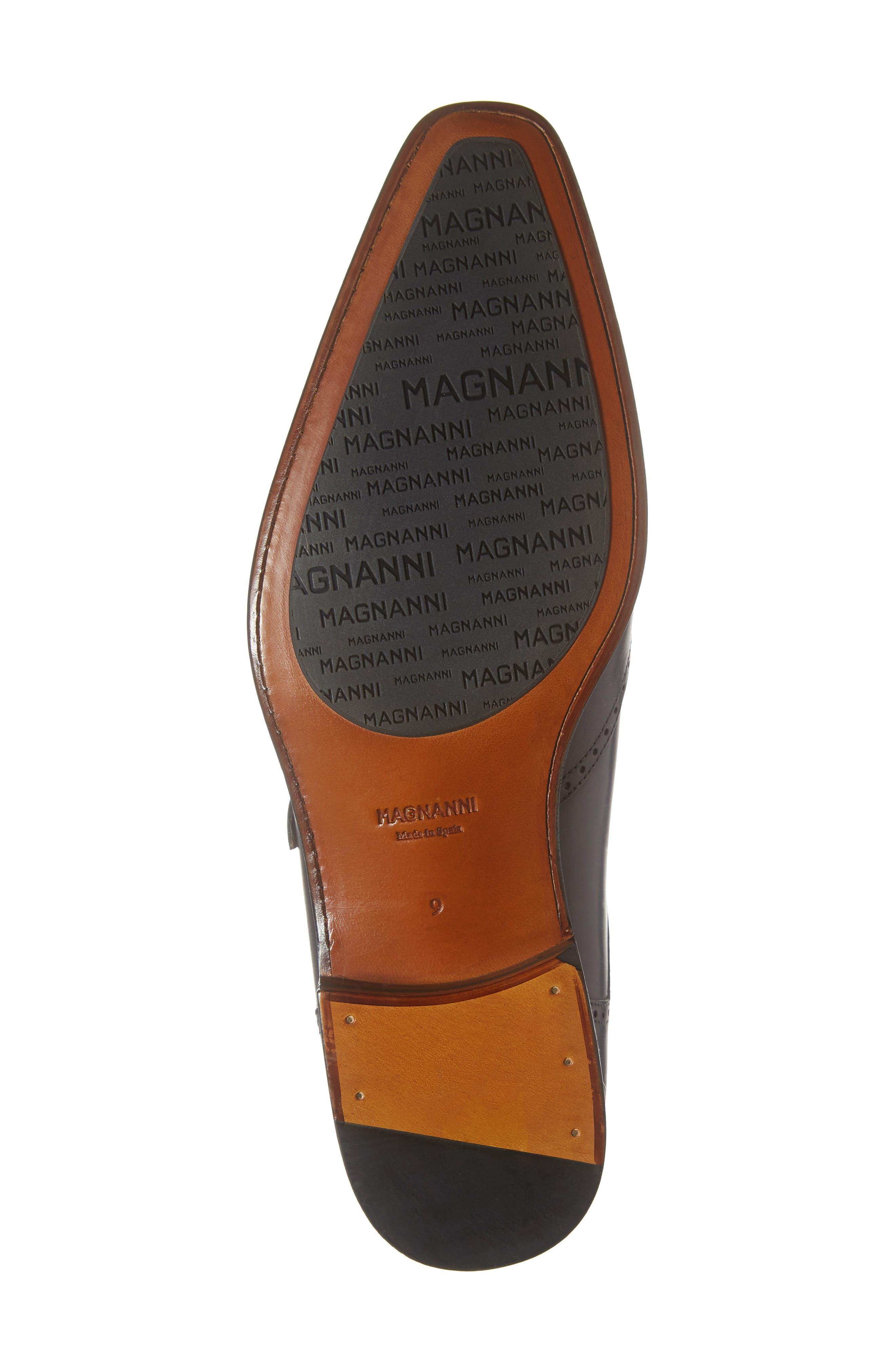 Dixon Wingtip Double Strap Monk Shoe,                             Alternate thumbnail 6, color,                             GREY