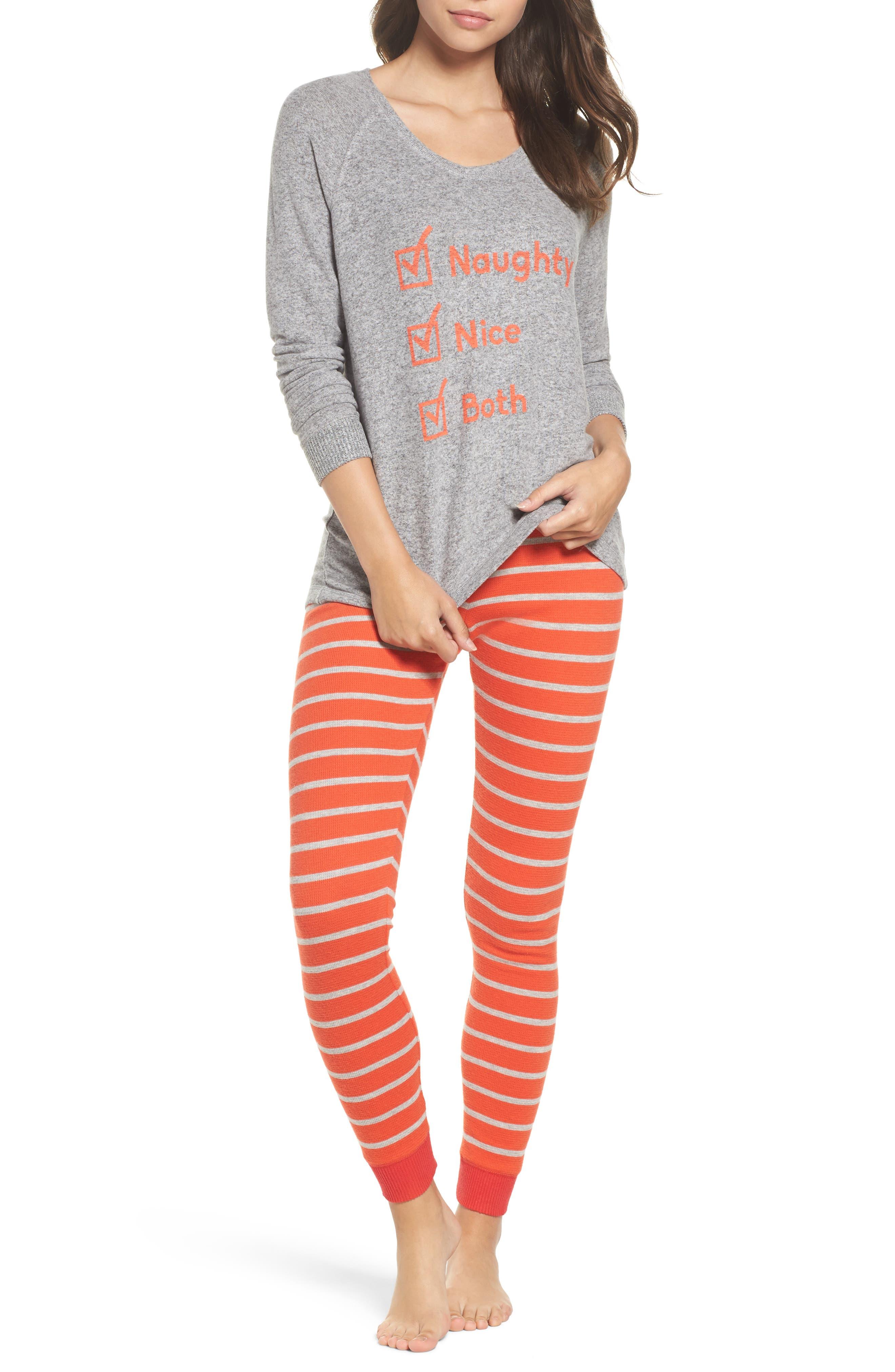 Snow Day Graphic Pajamas,                         Main,                         color, 021