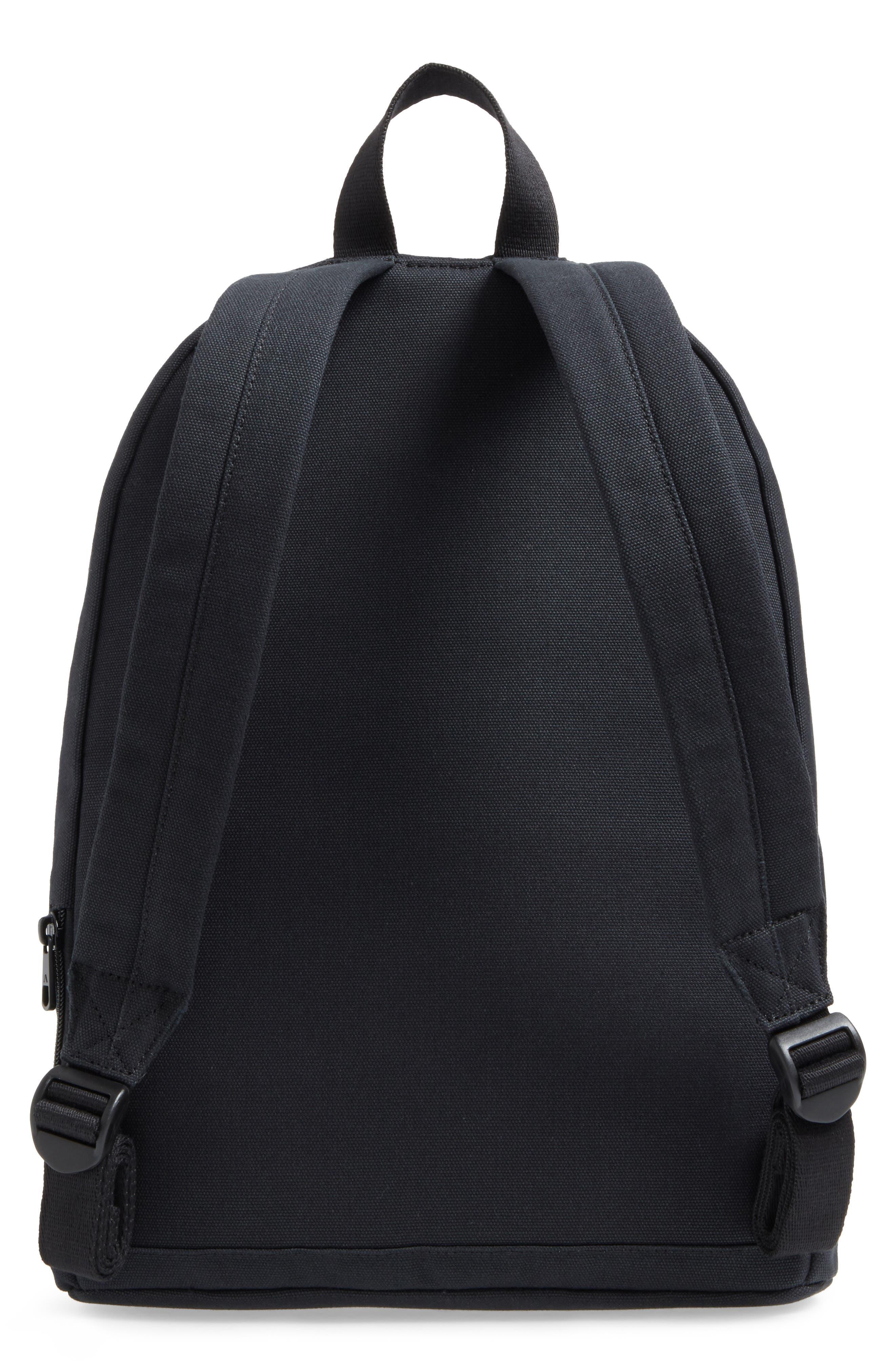 Canvas Slim Lorimer Backpack,                             Alternate thumbnail 3, color,                             001