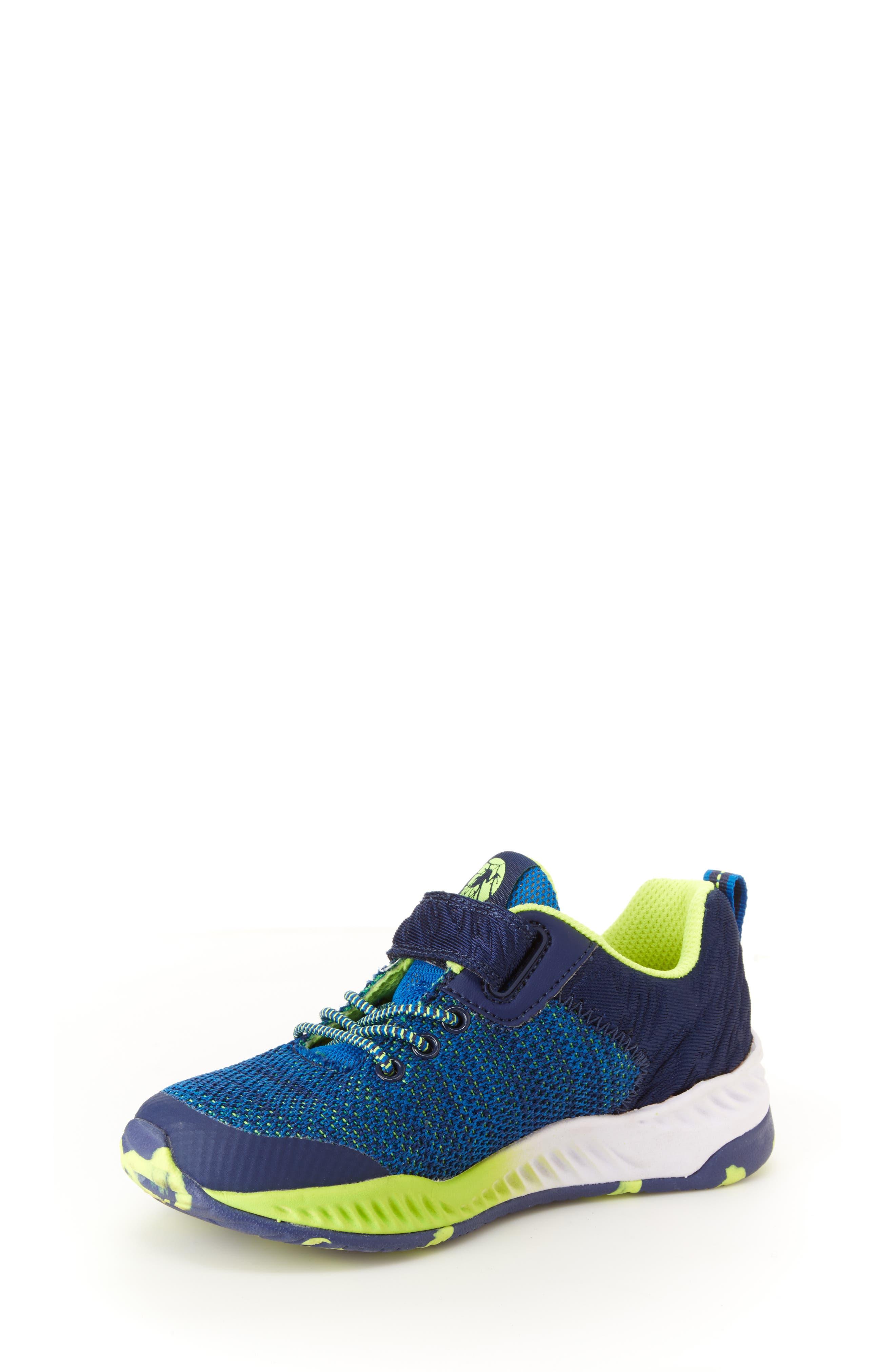 Talon Knit Sneaker,                             Alternate thumbnail 7, color,                             NAVY TEXTILE