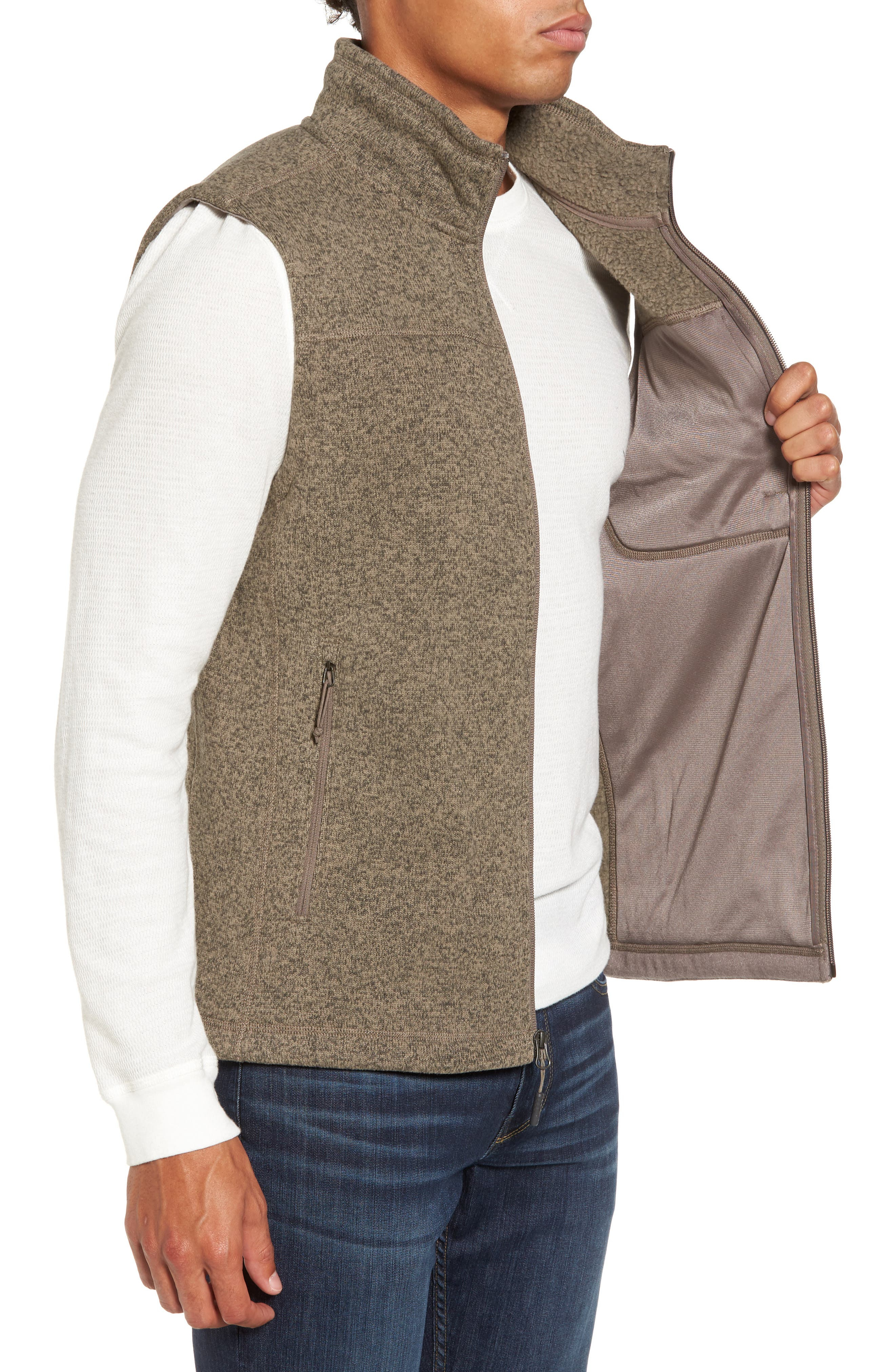 Gordon Lyons Zip Fleece Vest,                             Alternate thumbnail 13, color,