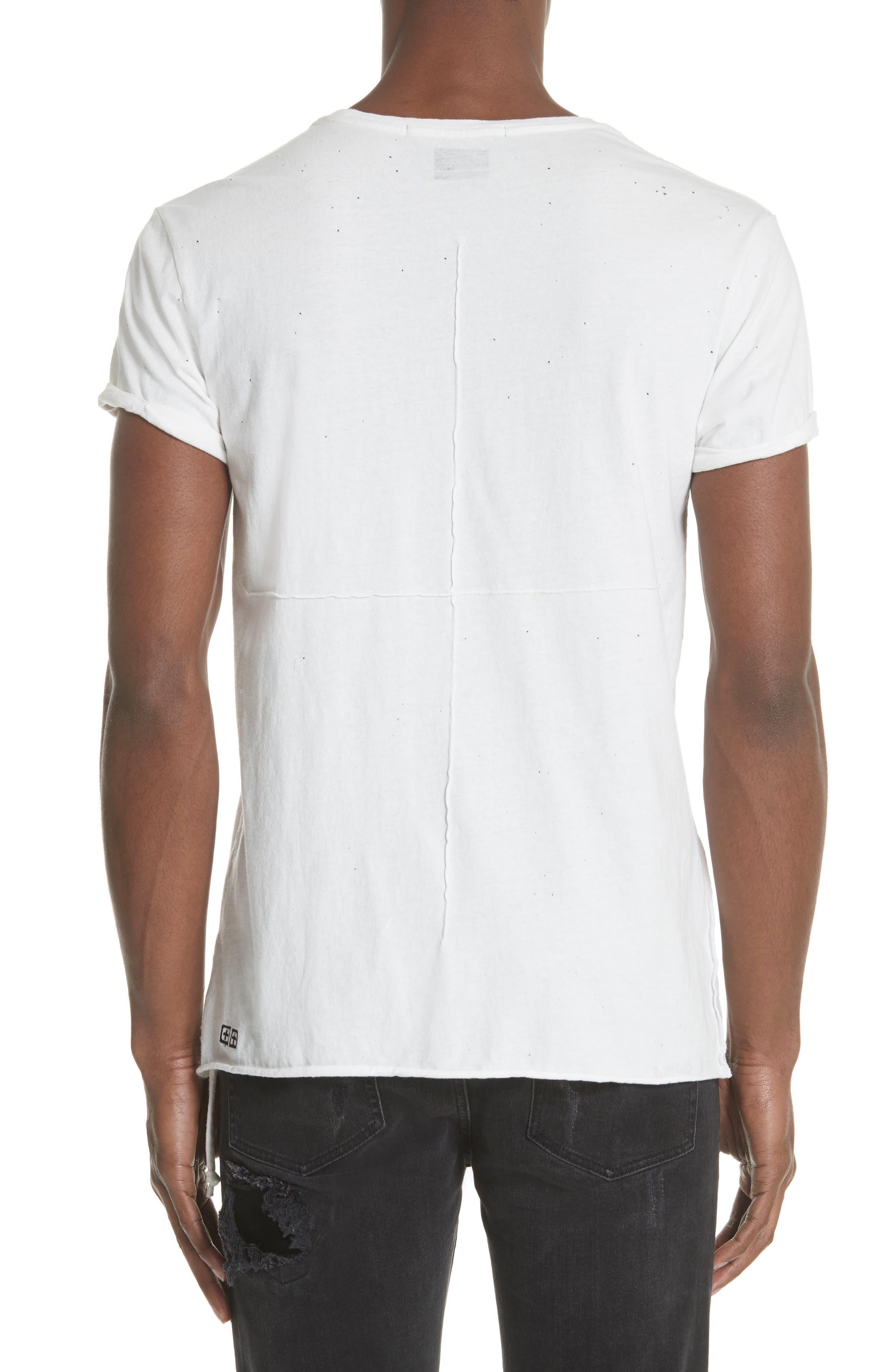 Kodeine Crewneck T-Shirt,                             Alternate thumbnail 2, color,                             WHITE