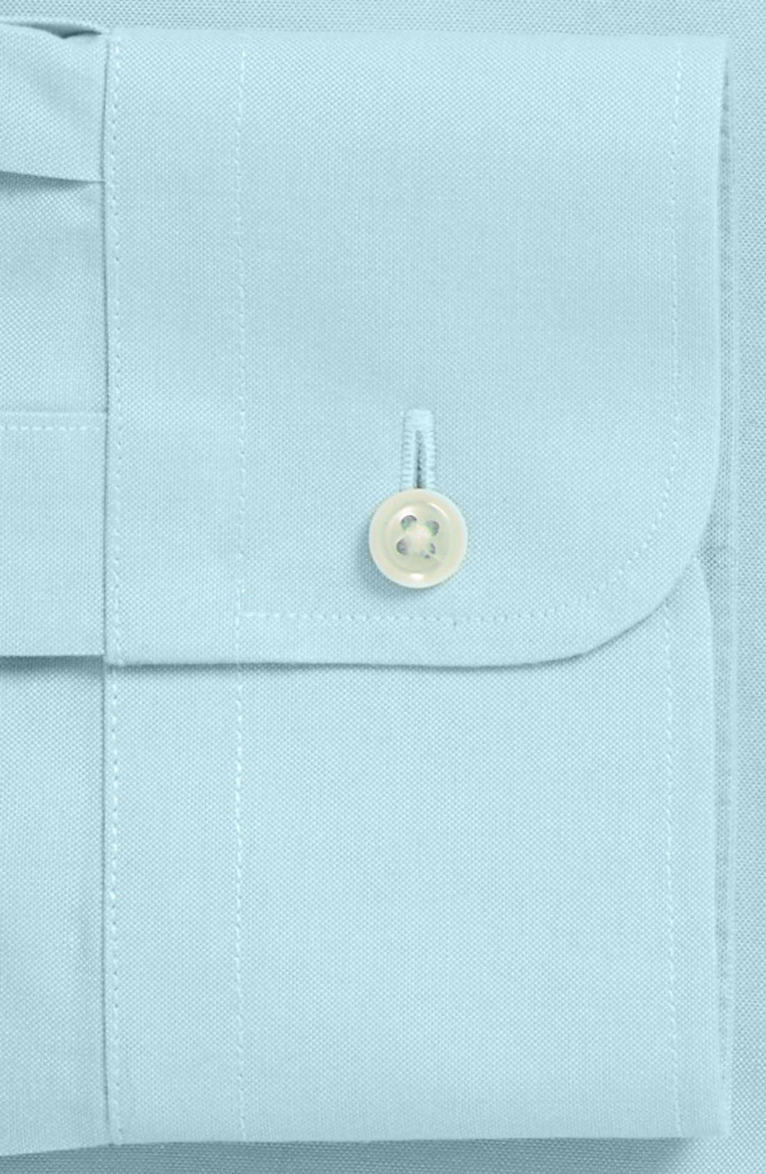 Smartcare<sup>™</sup> Traditional Fit Pinpoint Dress Shirt,                             Alternate thumbnail 57, color,