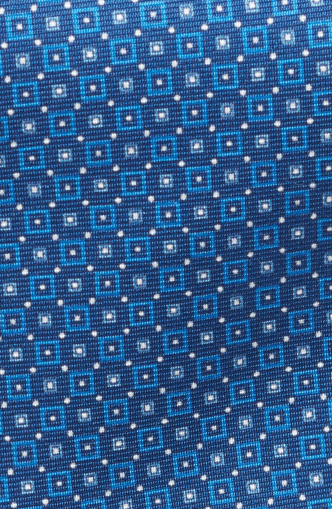 DAVID DONAHUE,                             Geometric Silk Tie,                             Alternate thumbnail 2, color,                             423