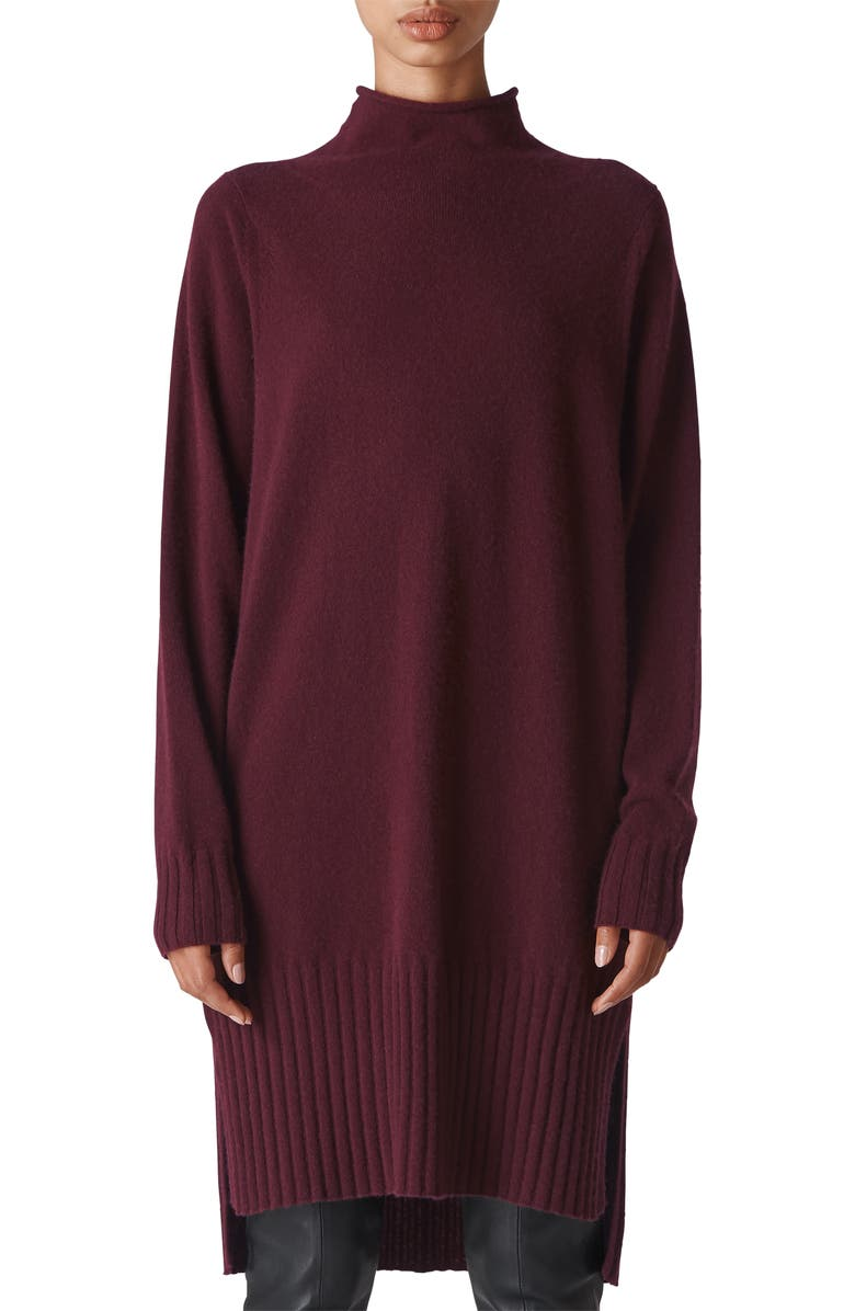 Whistles DOLMAN CASHMERE SWEATER DRESS