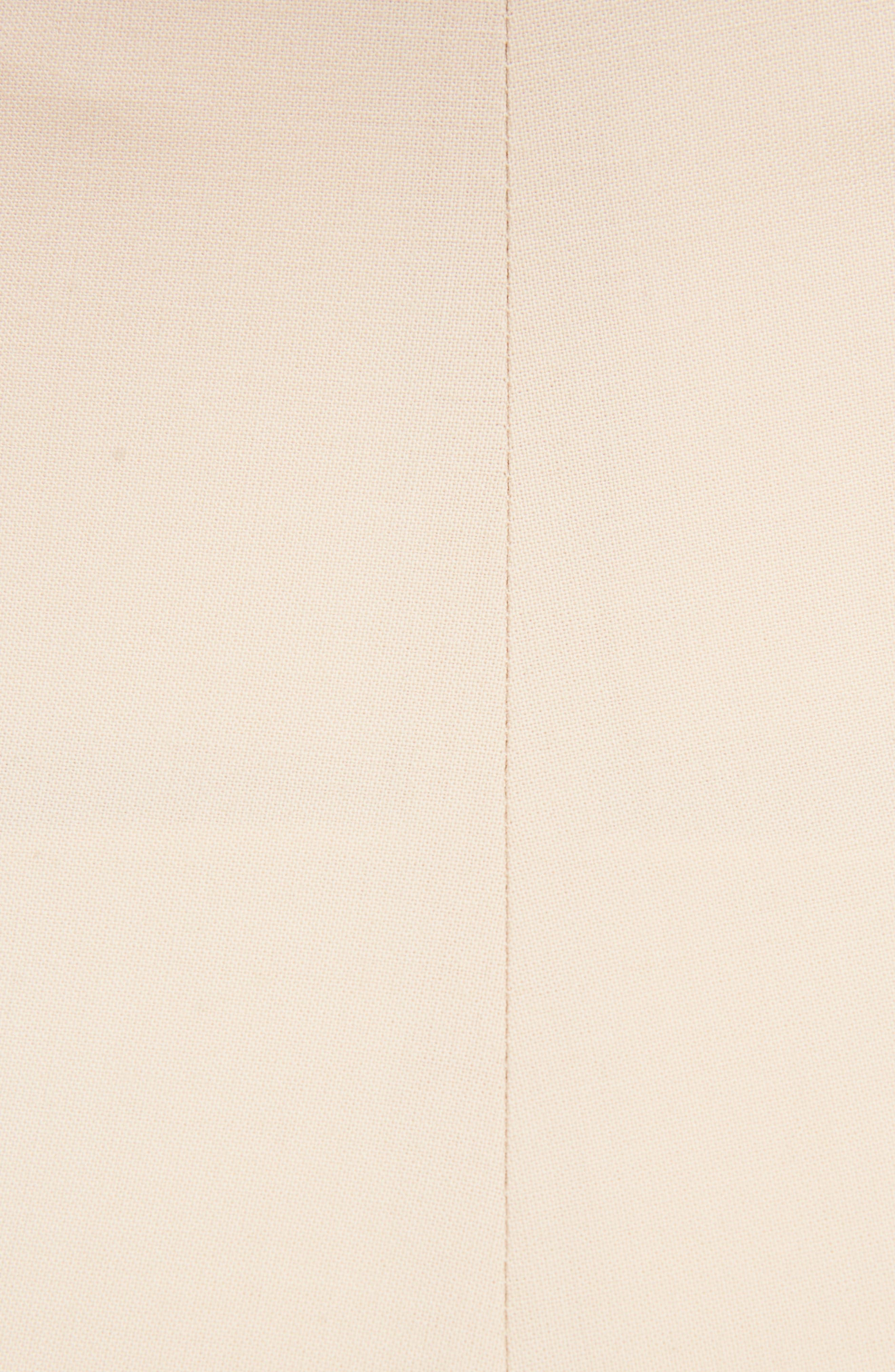 Le Pantalon Droit High Waist Crop Pants,                             Alternate thumbnail 5, color,                             250
