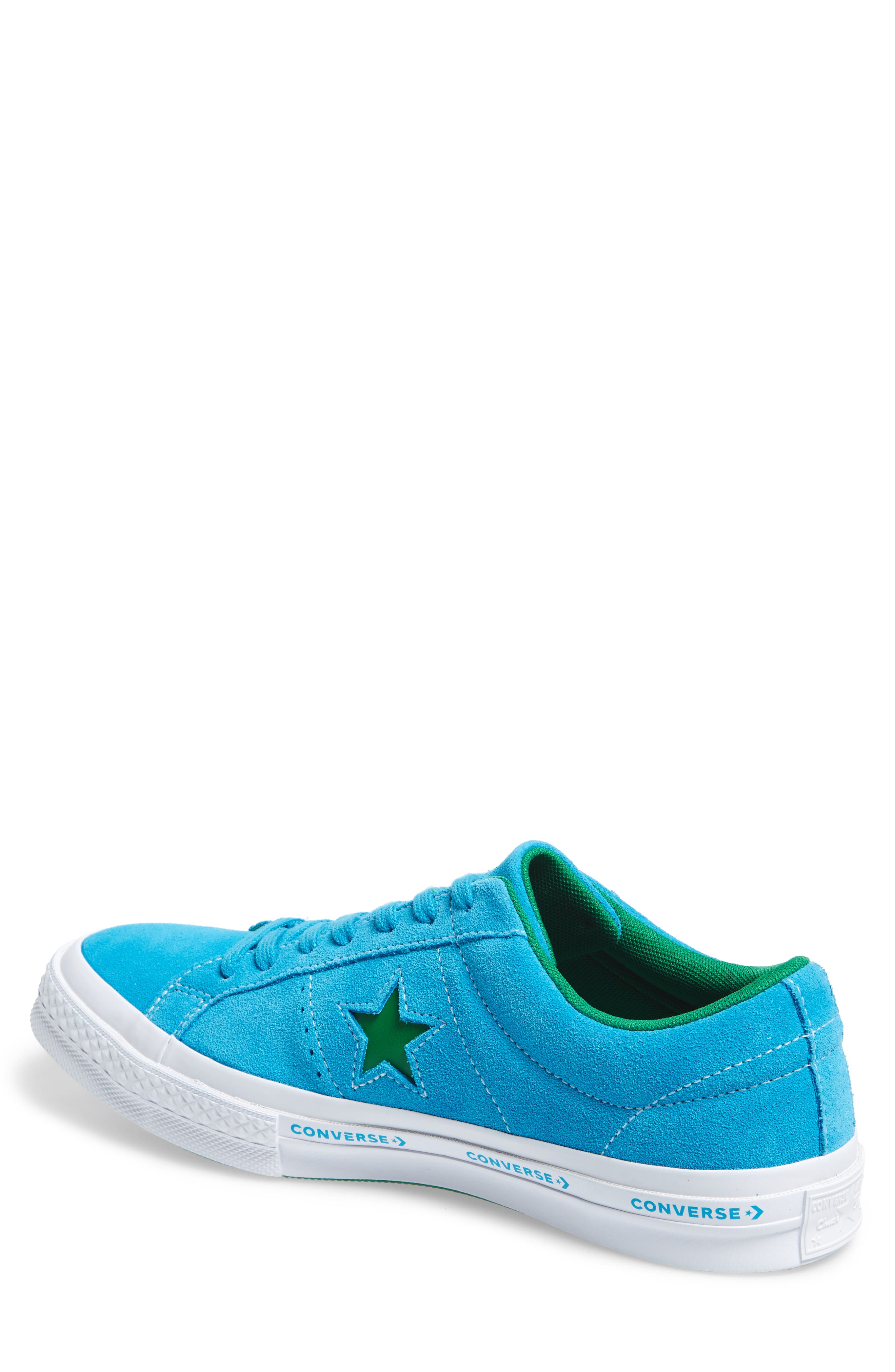Chuck Taylor<sup>®</sup> One Star Pinstripe Sneaker,                             Alternate thumbnail 6, color,