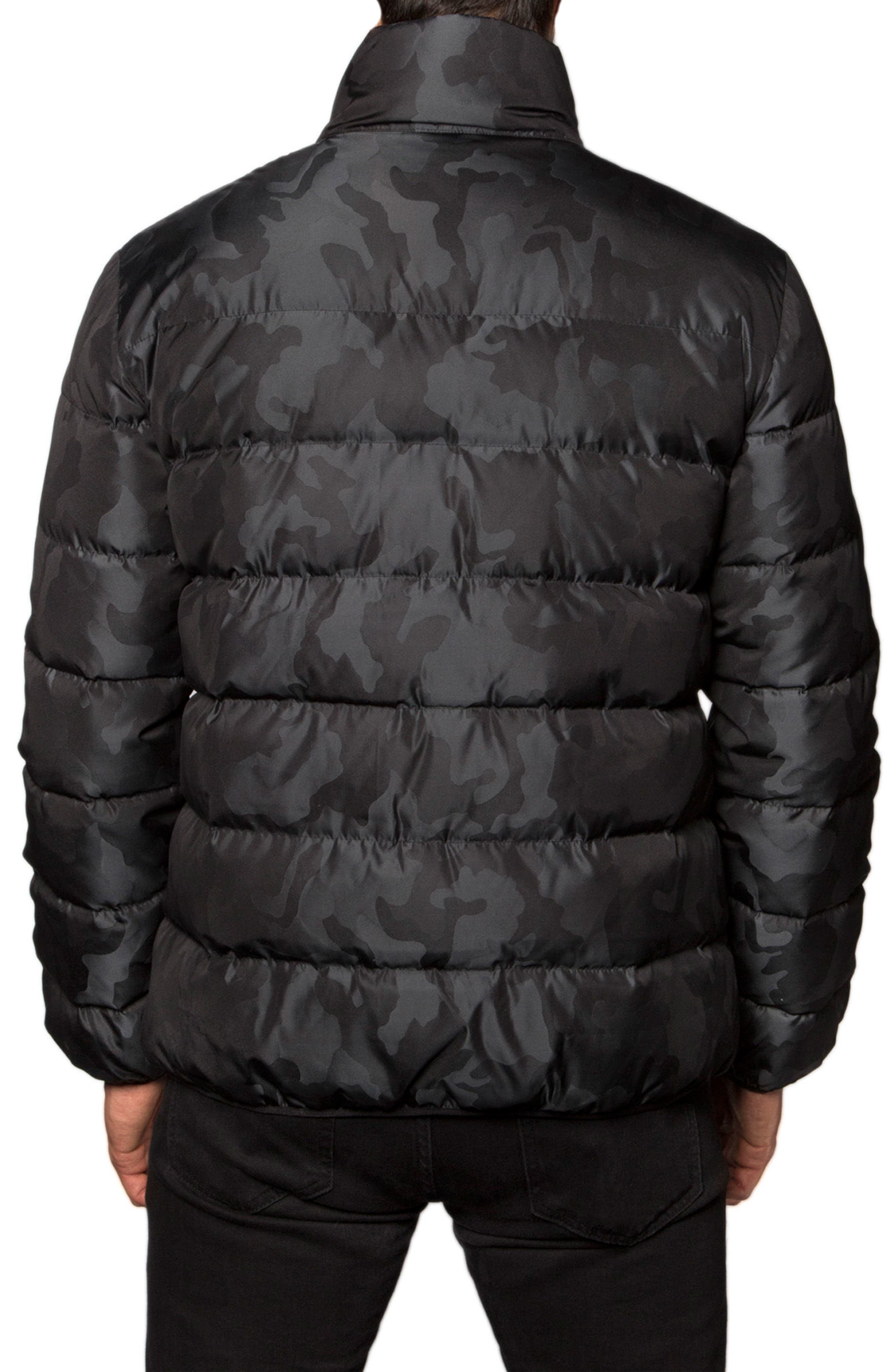 Down Puffer Jacket,                             Alternate thumbnail 6, color,